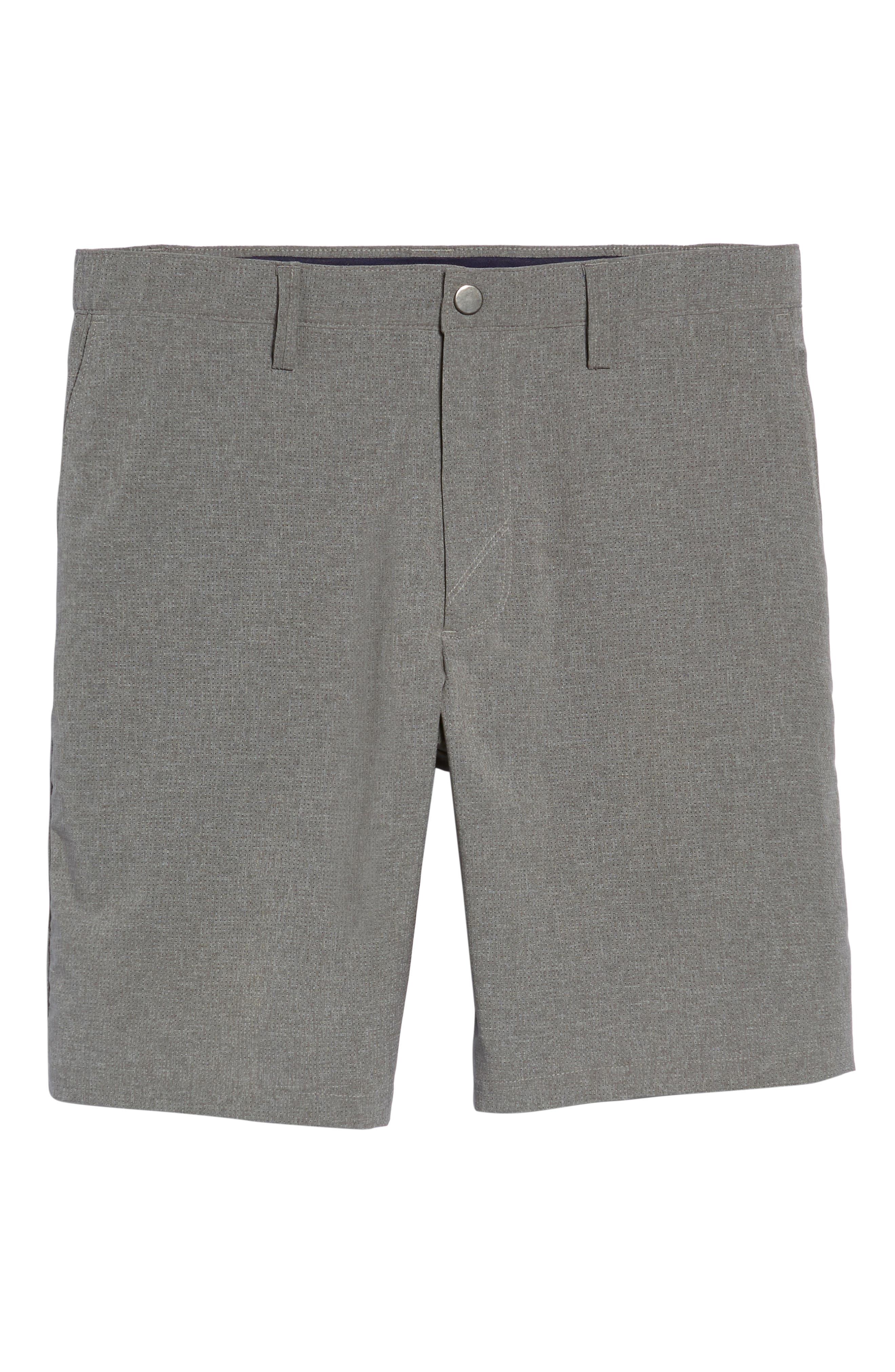 Windsor Active Classic Fit Shorts,                             Alternate thumbnail 6, color,                             GRAVEL
