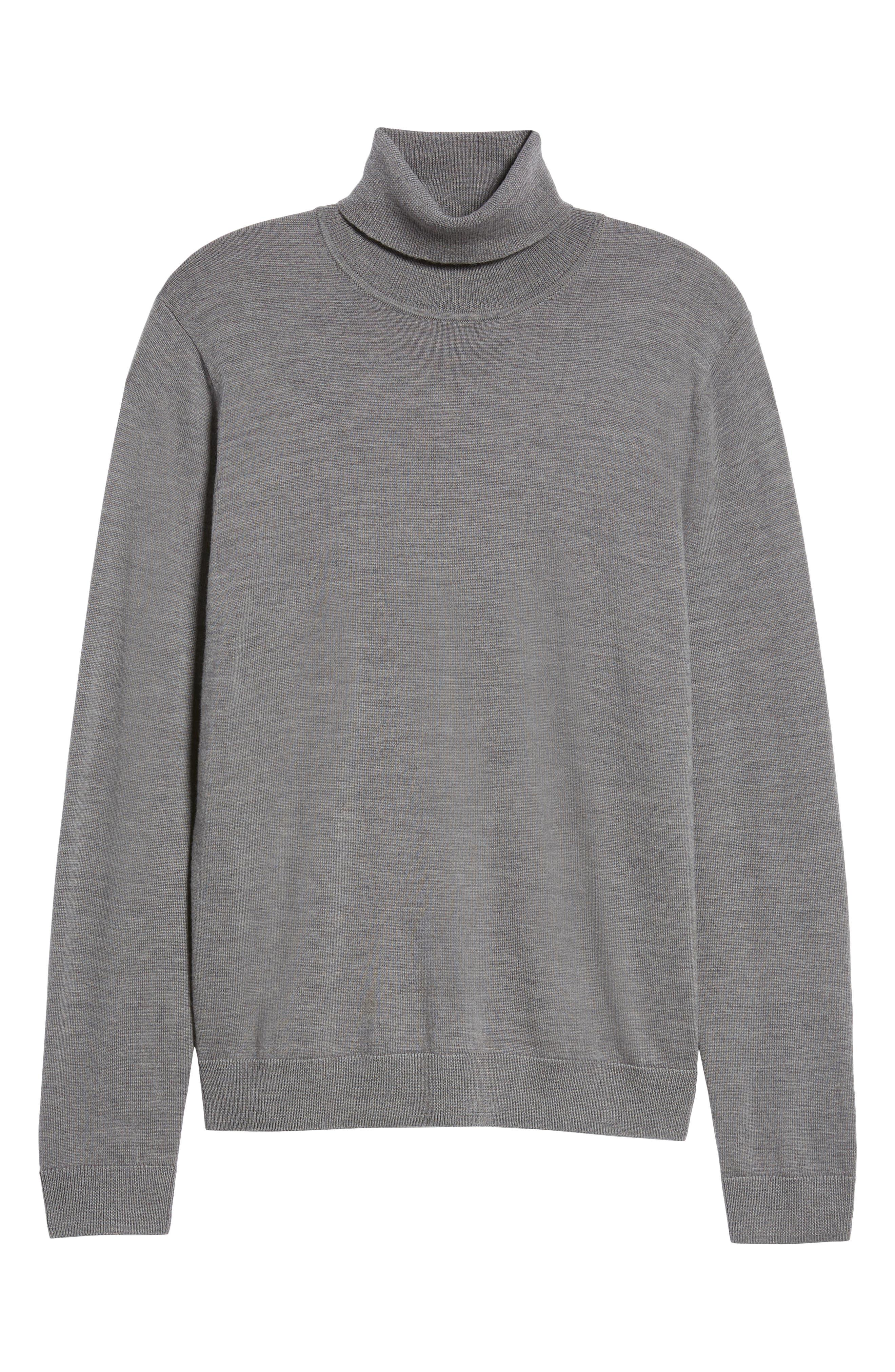 Merino Wool Turtleneck Sweater,                             Alternate thumbnail 32, color,