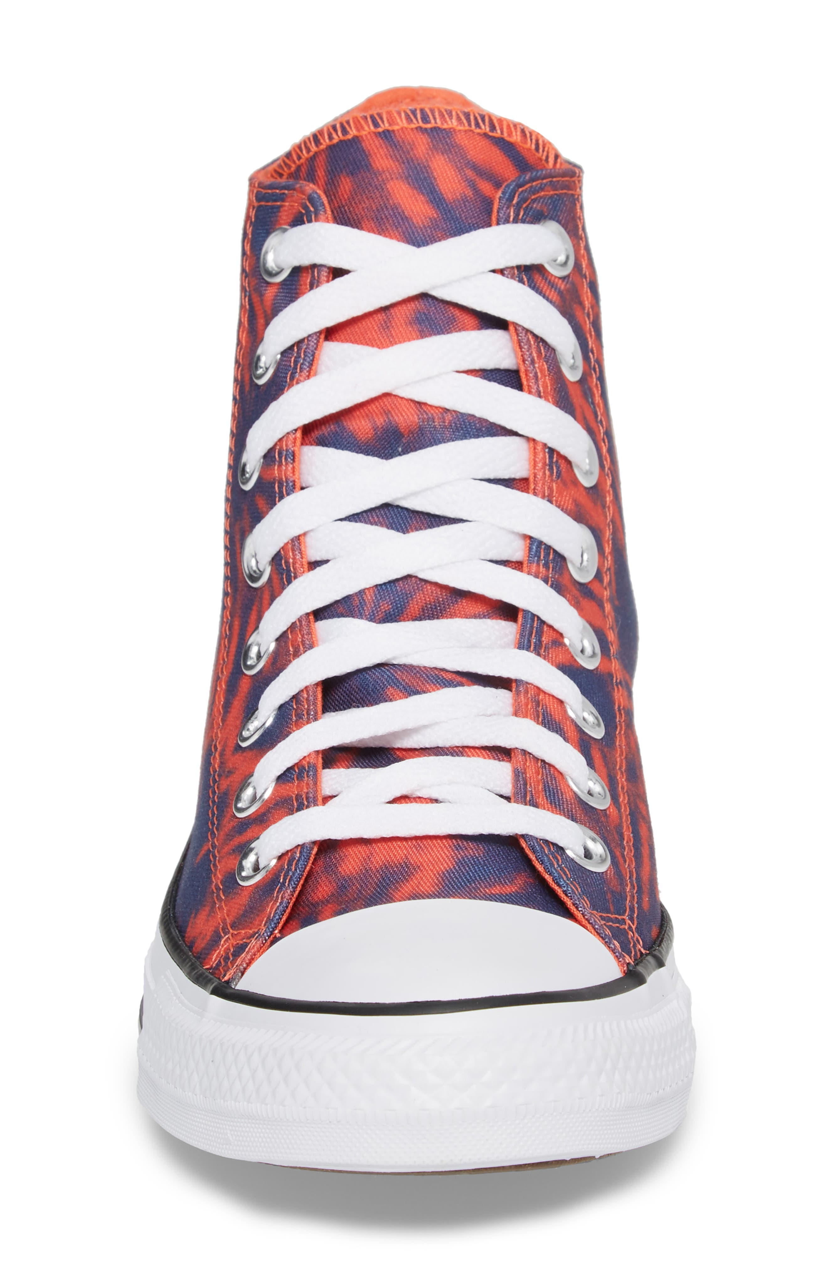 Chuck Taylor<sup>®</sup> All Star<sup>®</sup> Tie Dye High Top Sneaker,                             Alternate thumbnail 4, color,