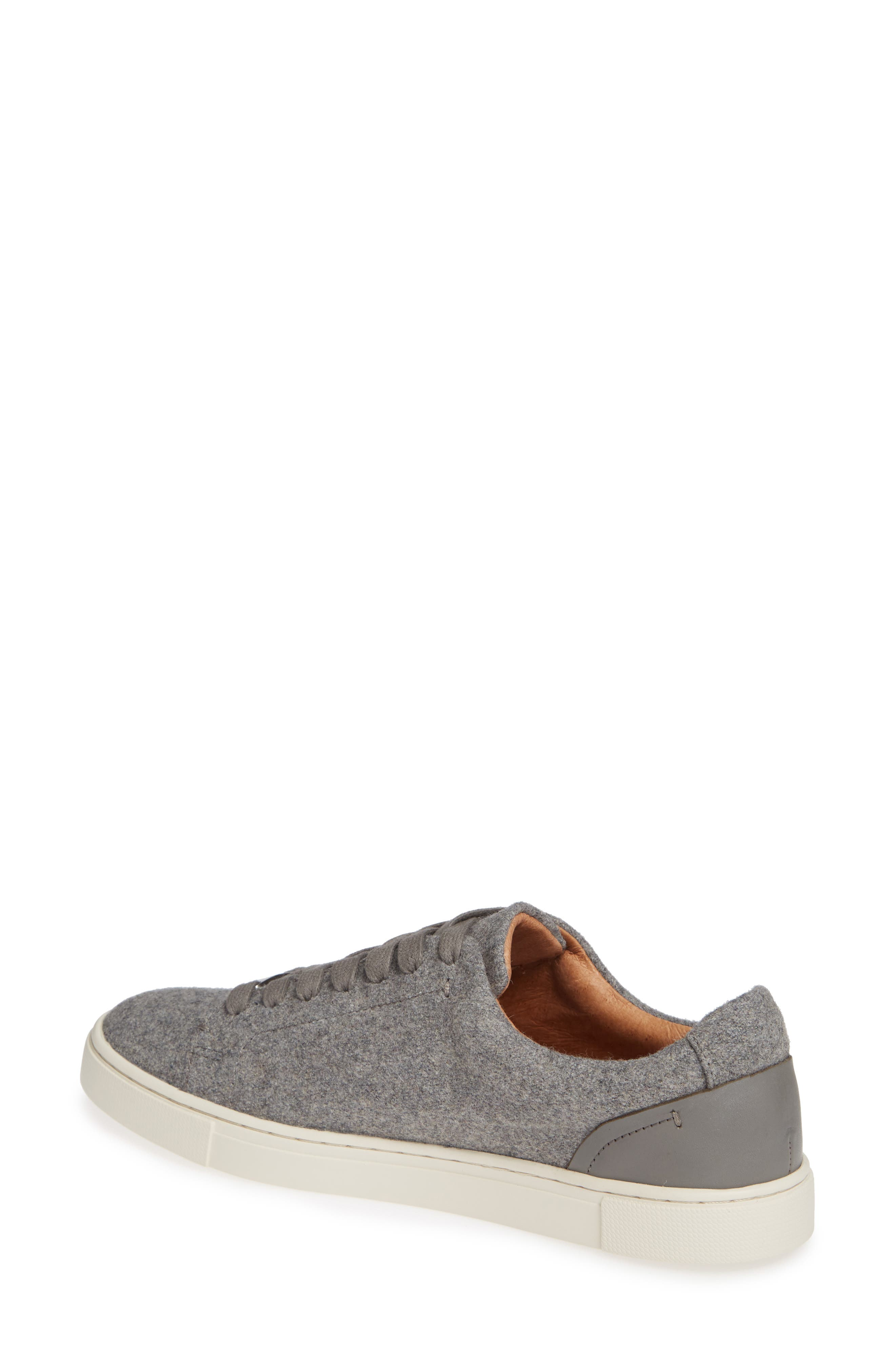 Ivy Sneaker,                             Alternate thumbnail 2, color,                             GREY WOOL FABRIC
