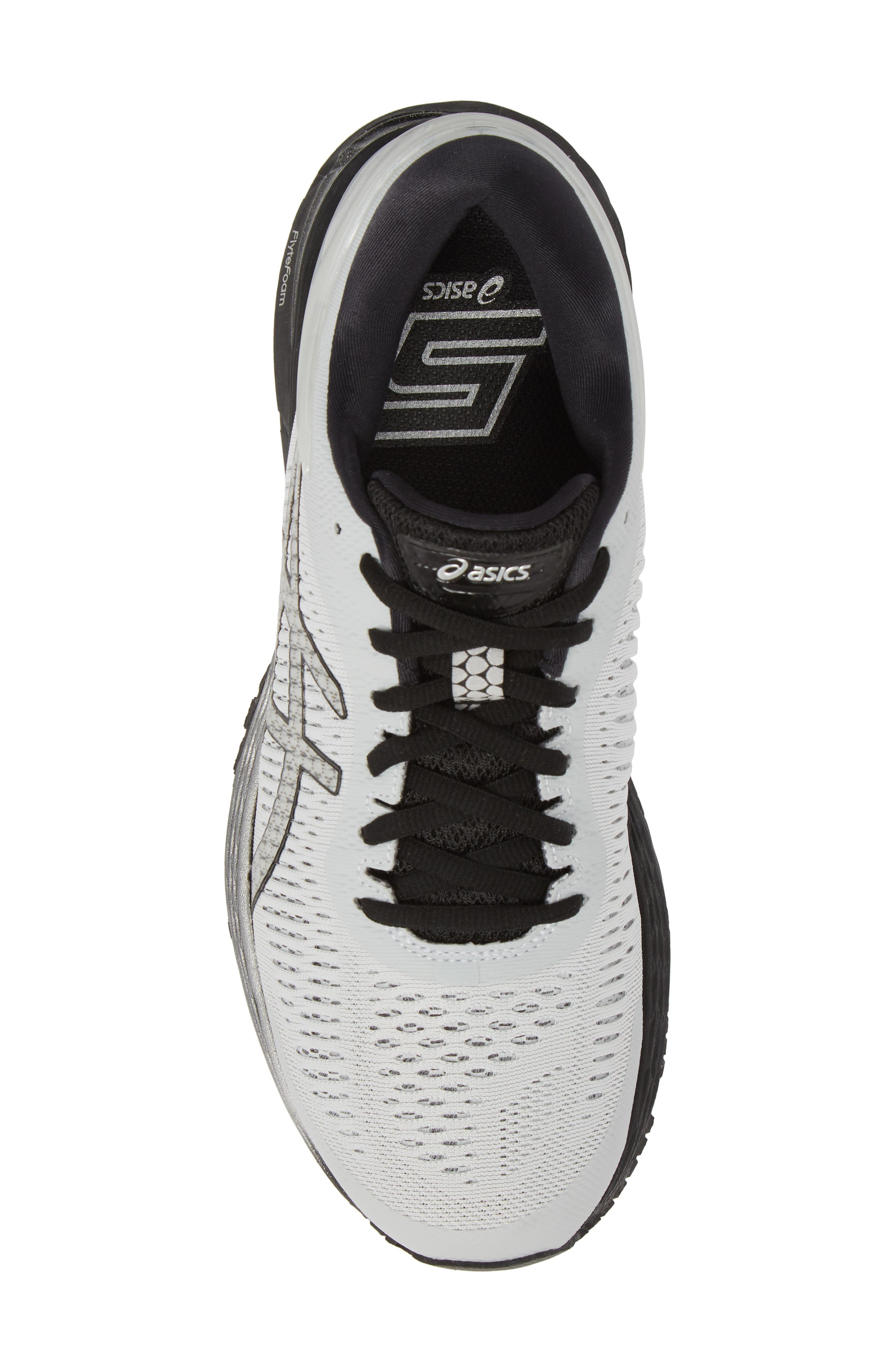 GEL-Kayano<sup>®</sup> 25 Running Shoe,                             Alternate thumbnail 5, color,                             GLACIER GREY/ BLACK