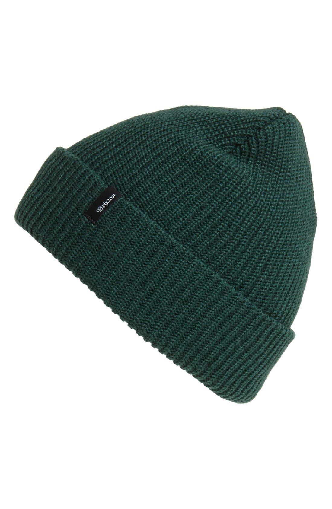 'Heist' Rib Knit Cap,                             Main thumbnail 7, color,