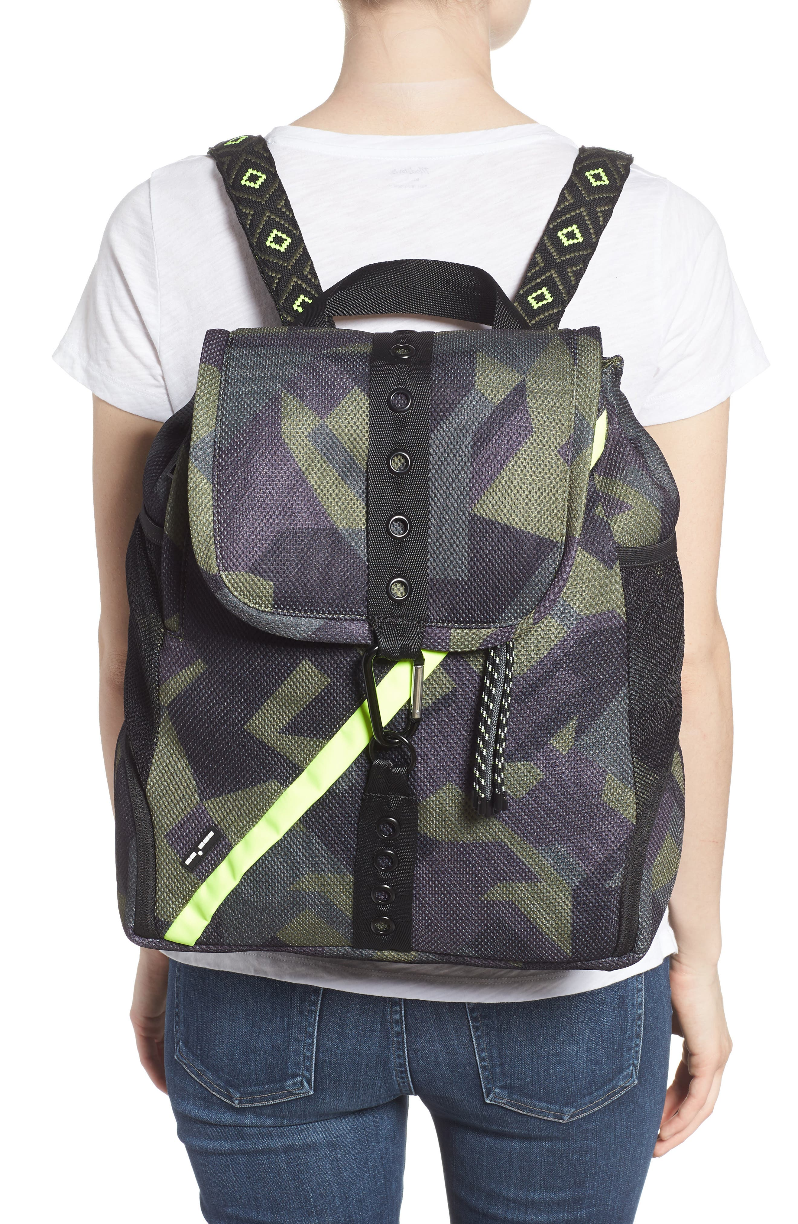 Water Resistant Backpack,                             Alternate thumbnail 2, color,                             OLIVE CAMO