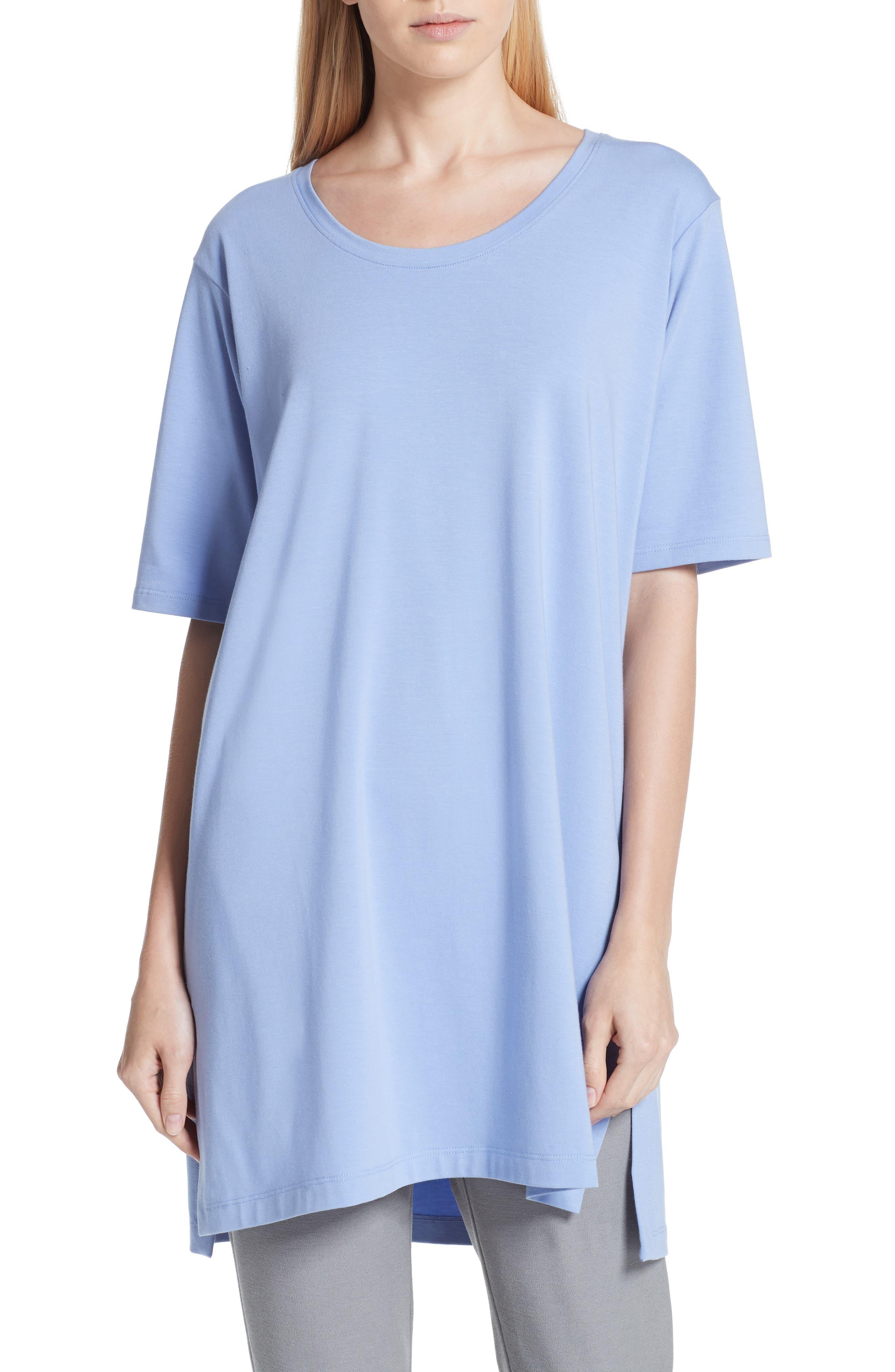 Stretch Organic Cotton Jersey Tunic,                             Main thumbnail 3, color,