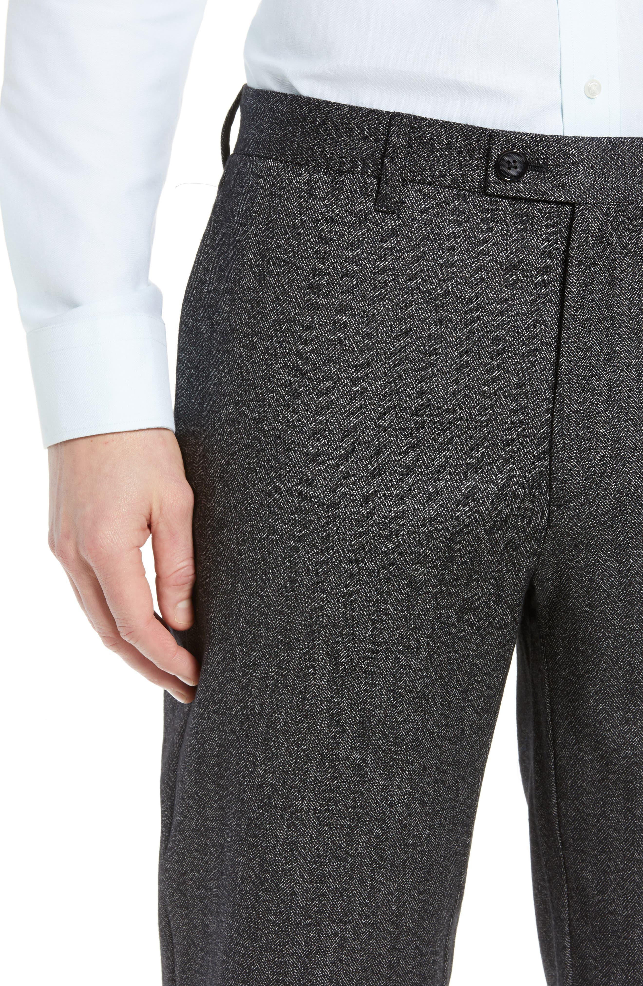 Wenstro Classic Fit Trousers,                             Alternate thumbnail 4, color,                             020