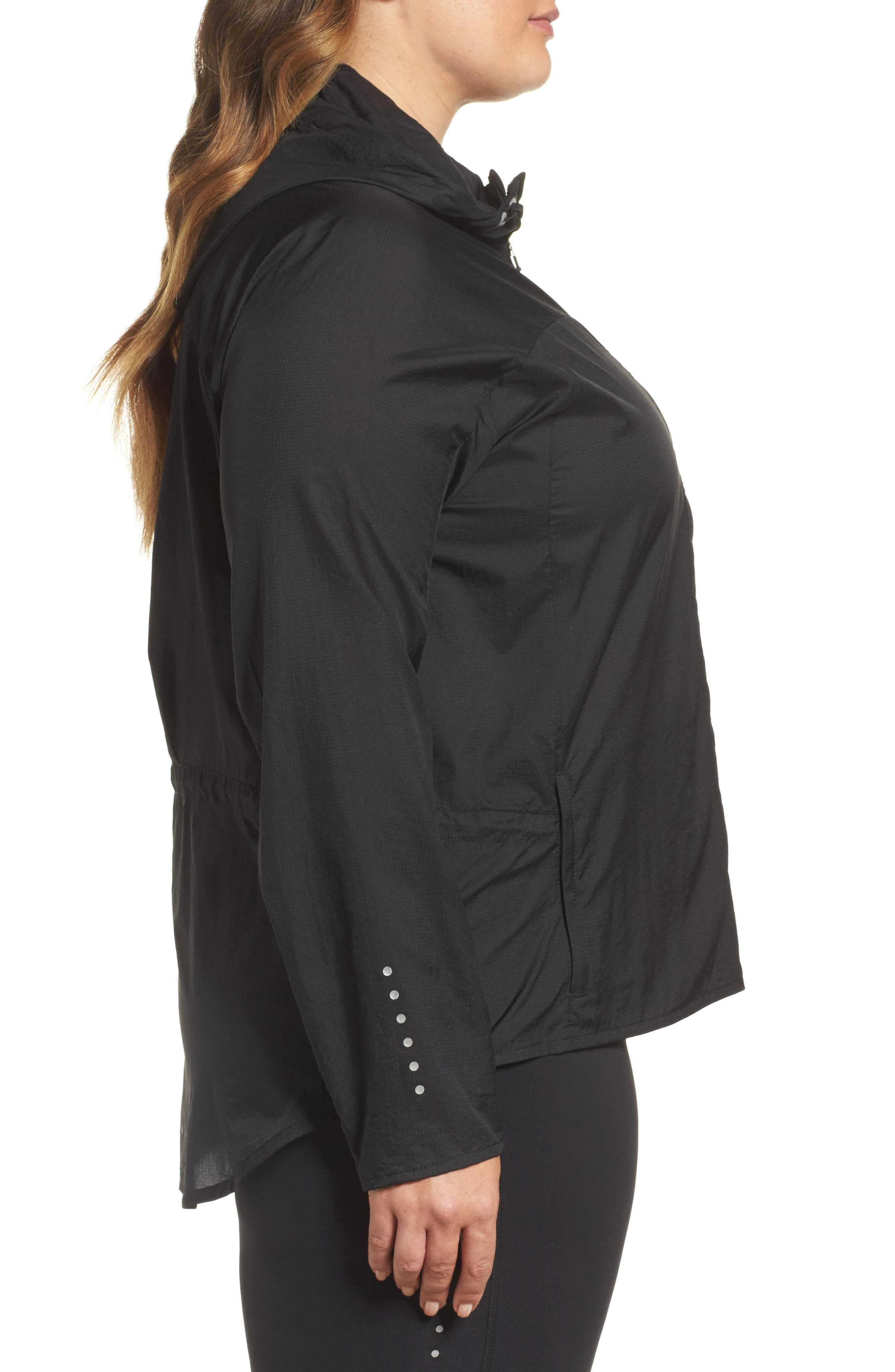 Impossibly Light Hooded Jacket,                             Alternate thumbnail 3, color,                             010