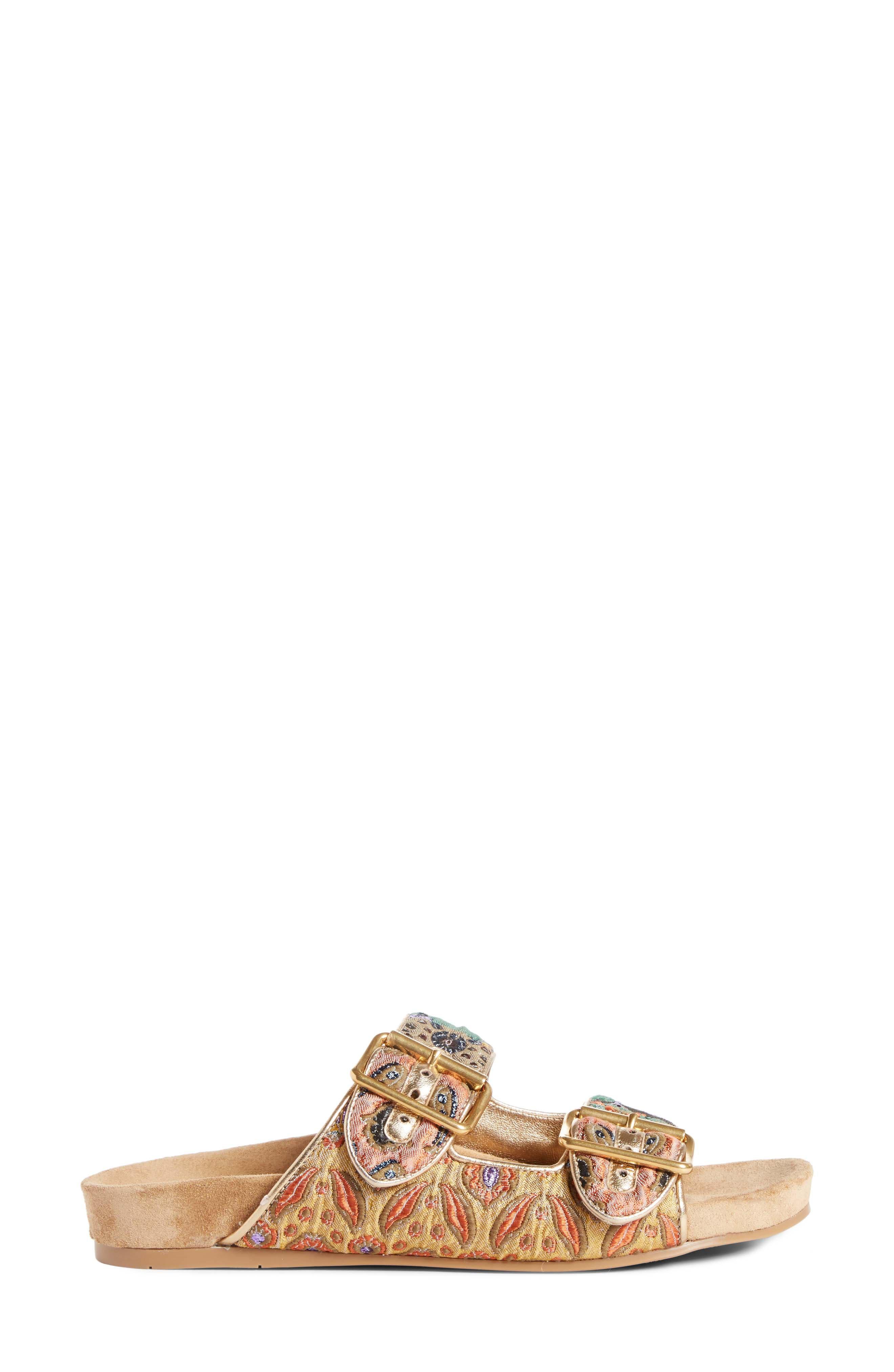 Glitter Slide Sandal,                             Alternate thumbnail 3, color,                             710