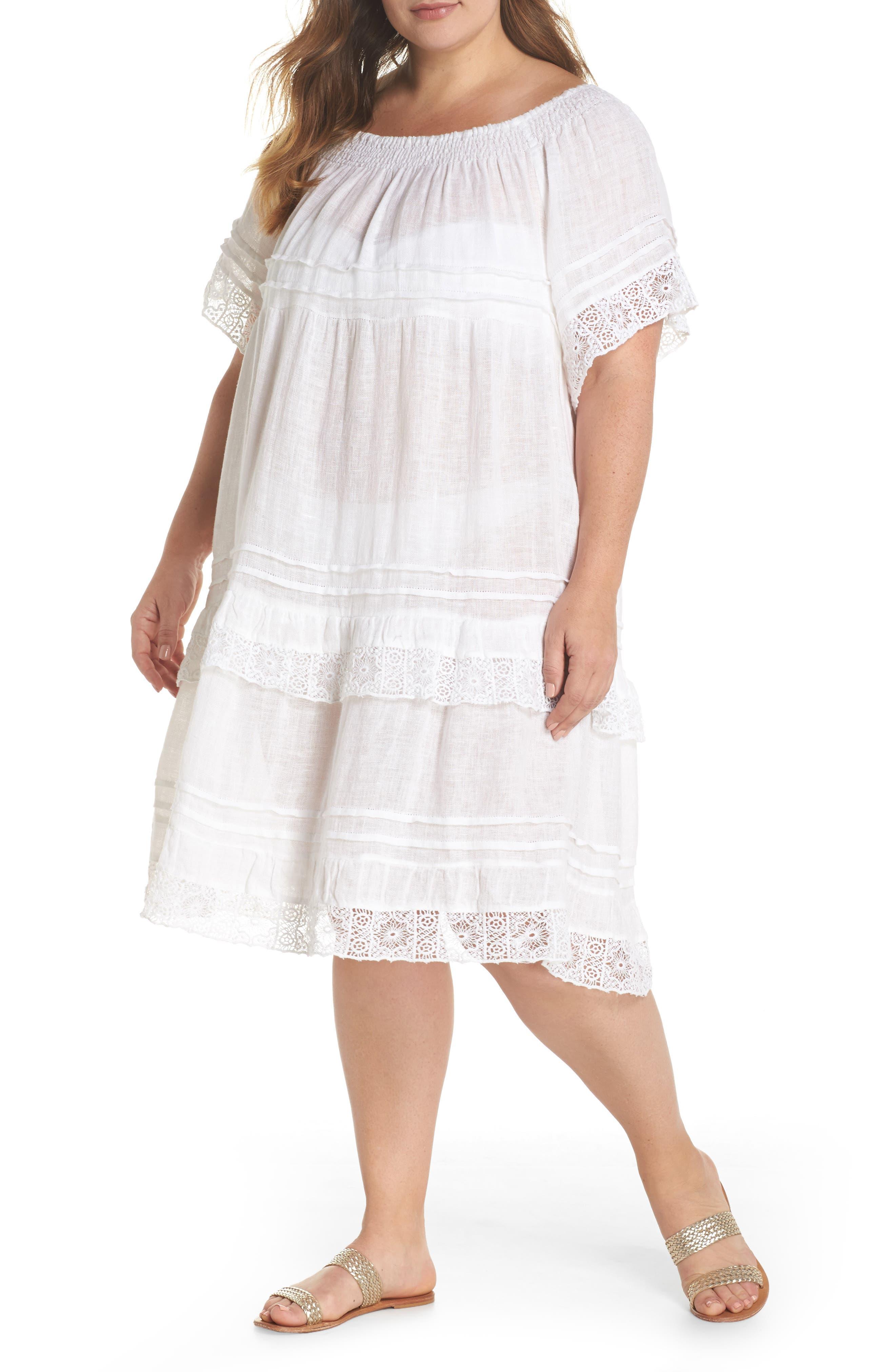 Esmerelda Cover-Up Dress,                             Main thumbnail 1, color,                             100