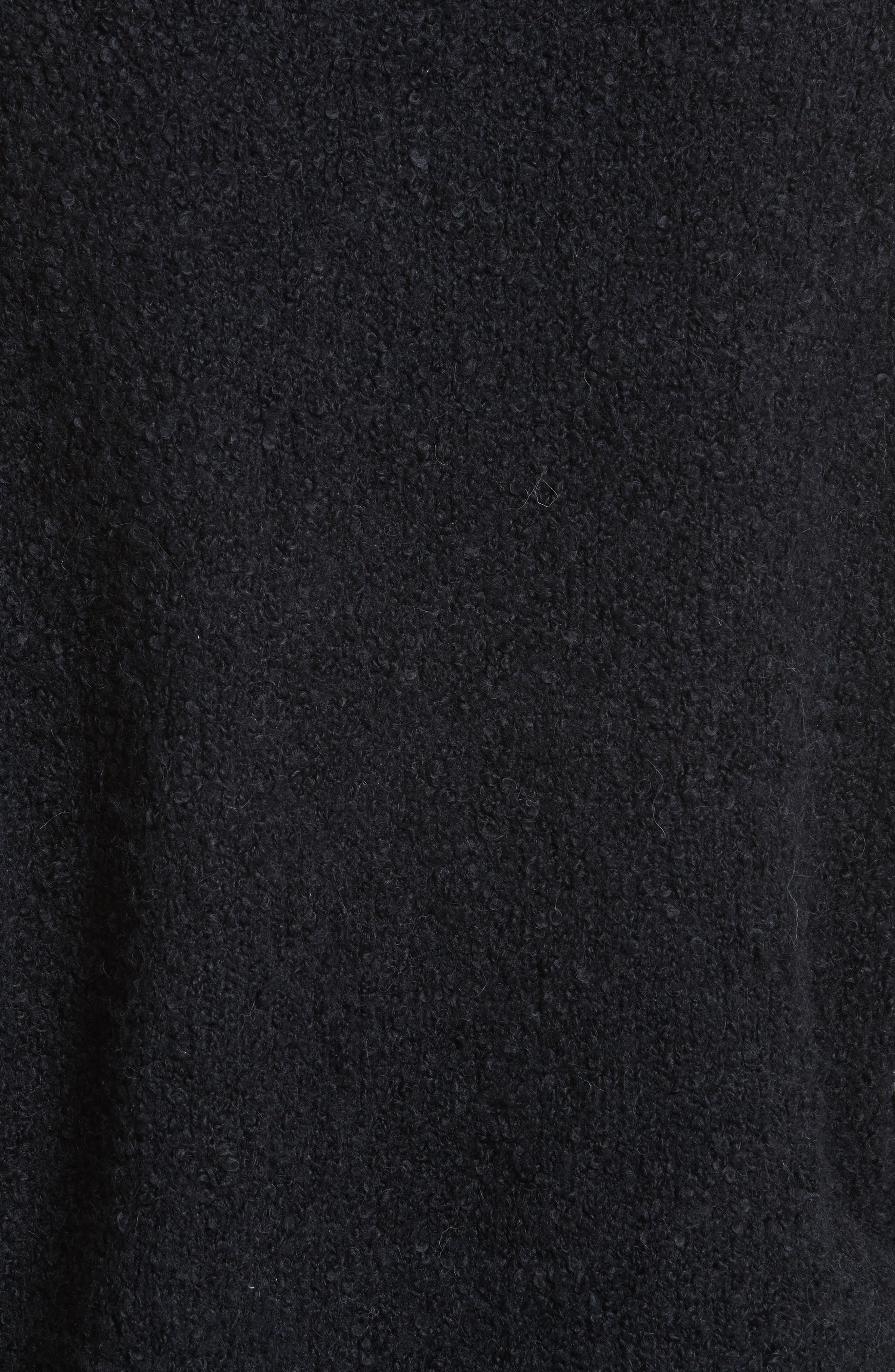 Lofty V-Neck Sweater,                             Alternate thumbnail 5, color,                             001