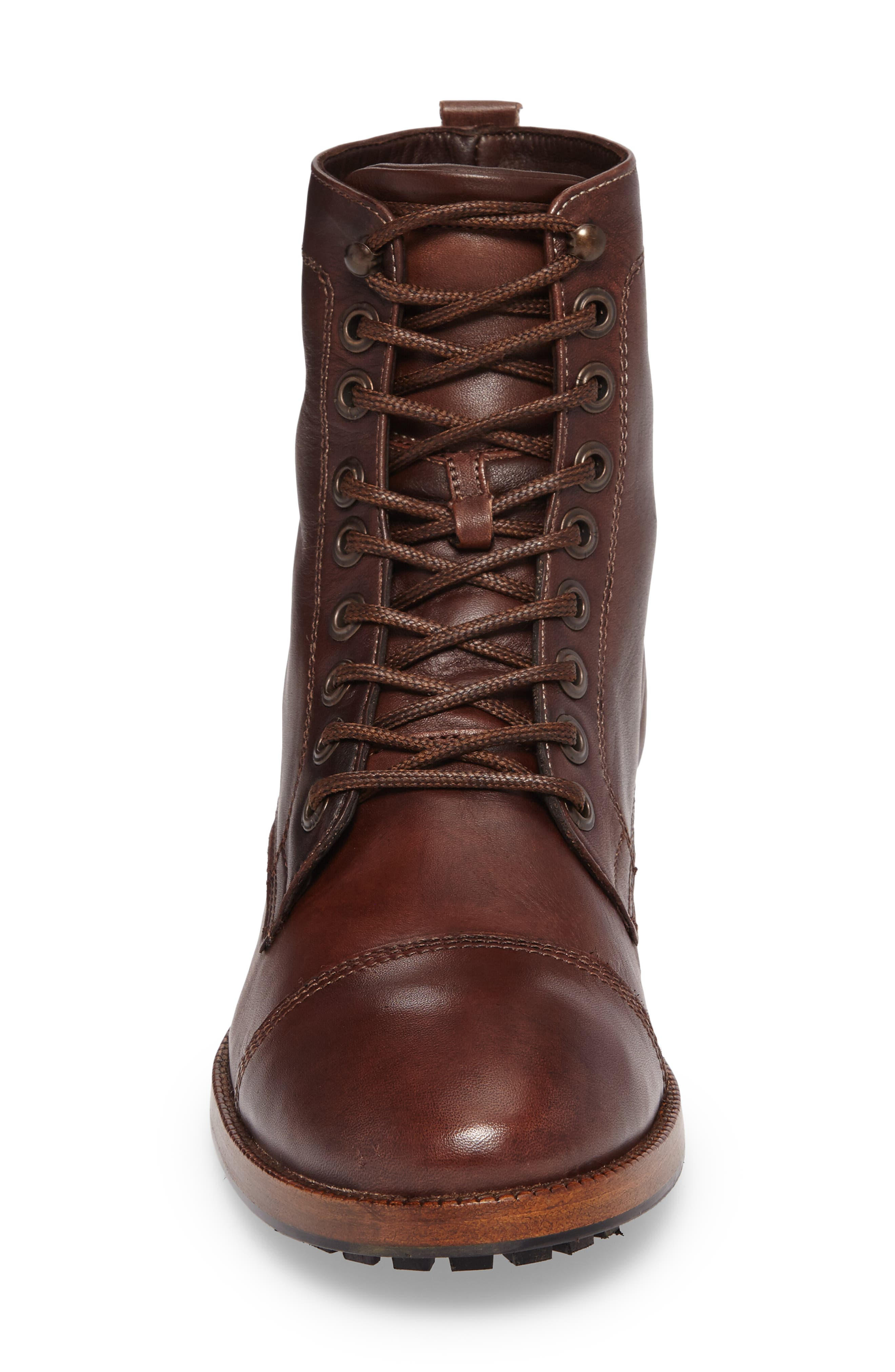 x GQ Ted Cap Toe Boot,                             Alternate thumbnail 4, color,                             200
