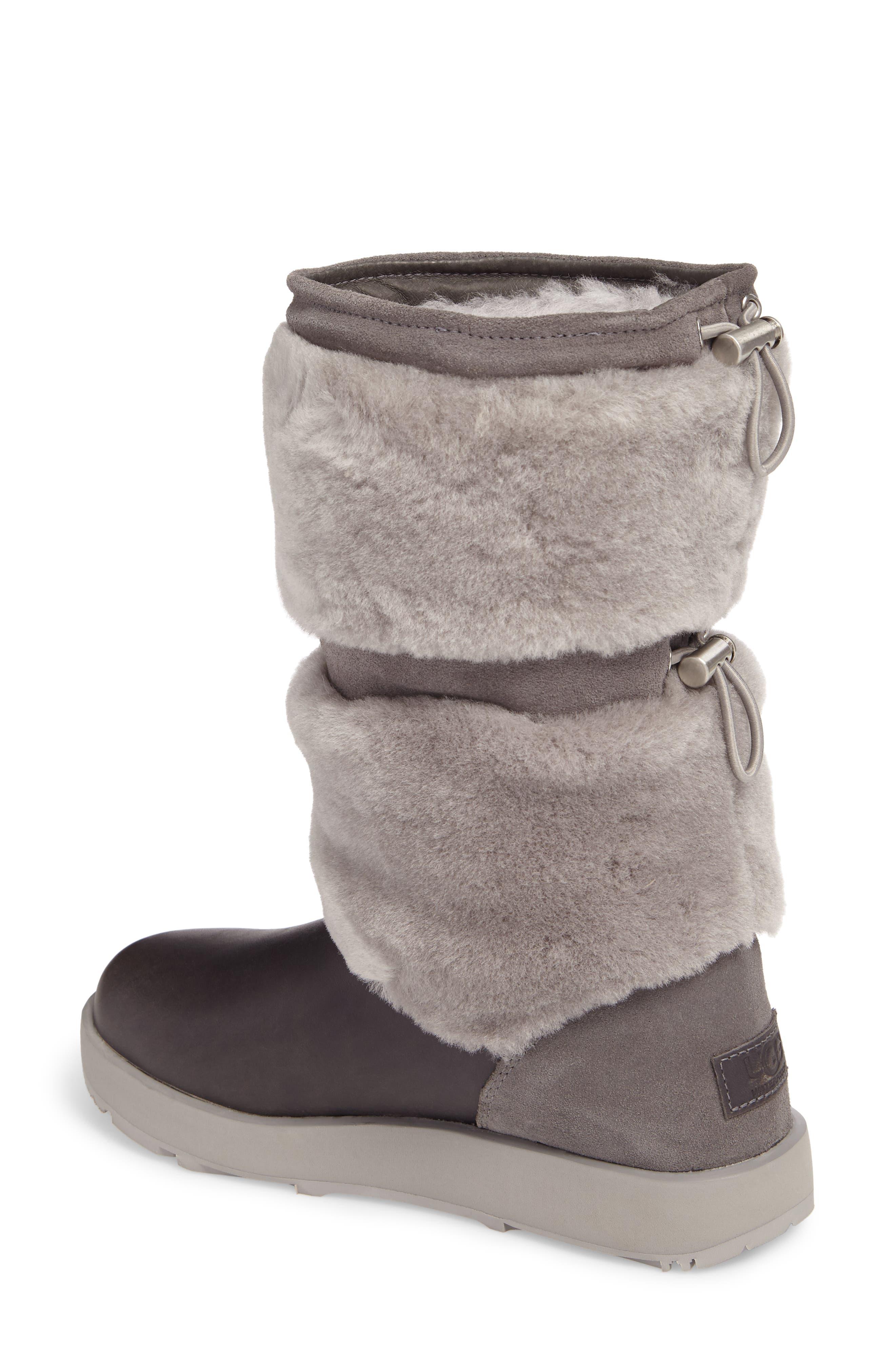 Reykir Waterproof Snow Boot,                             Alternate thumbnail 5, color,