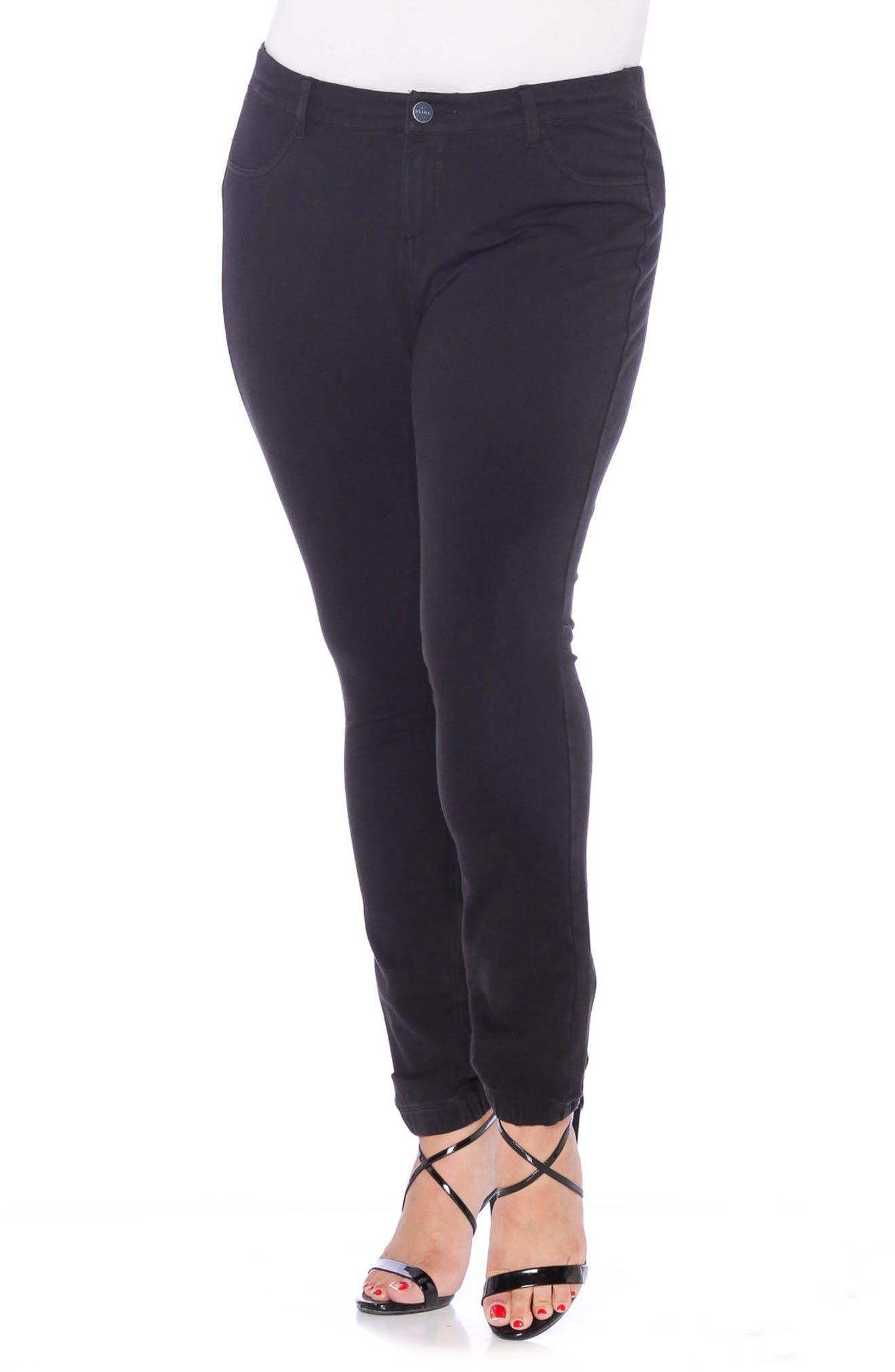 Super Stretch Knit Pants,                         Main,                         color, 001