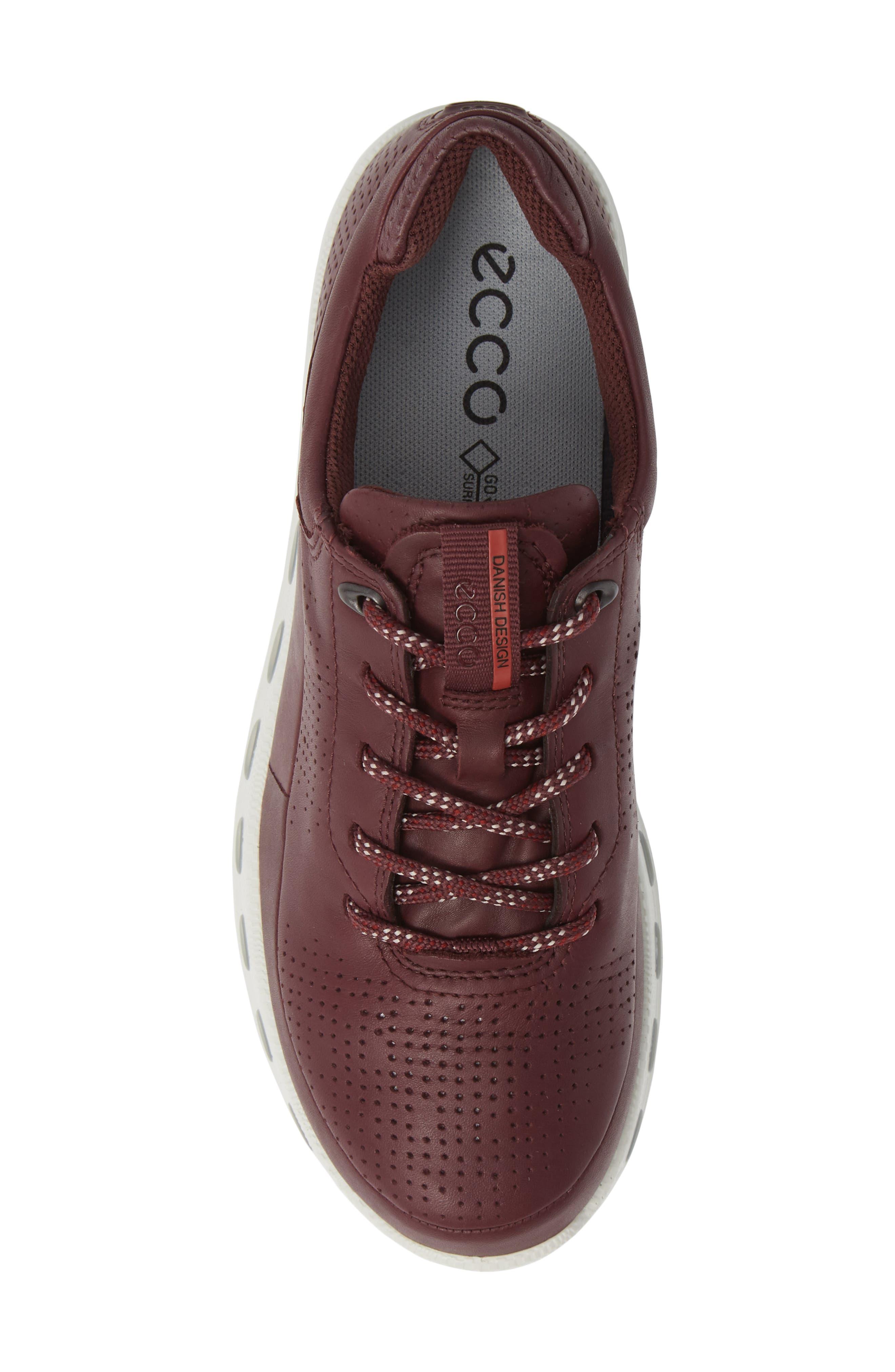 Cool 2.0 GTX Waterproof Sneaker,                             Alternate thumbnail 5, color,                             WINE LEATHER