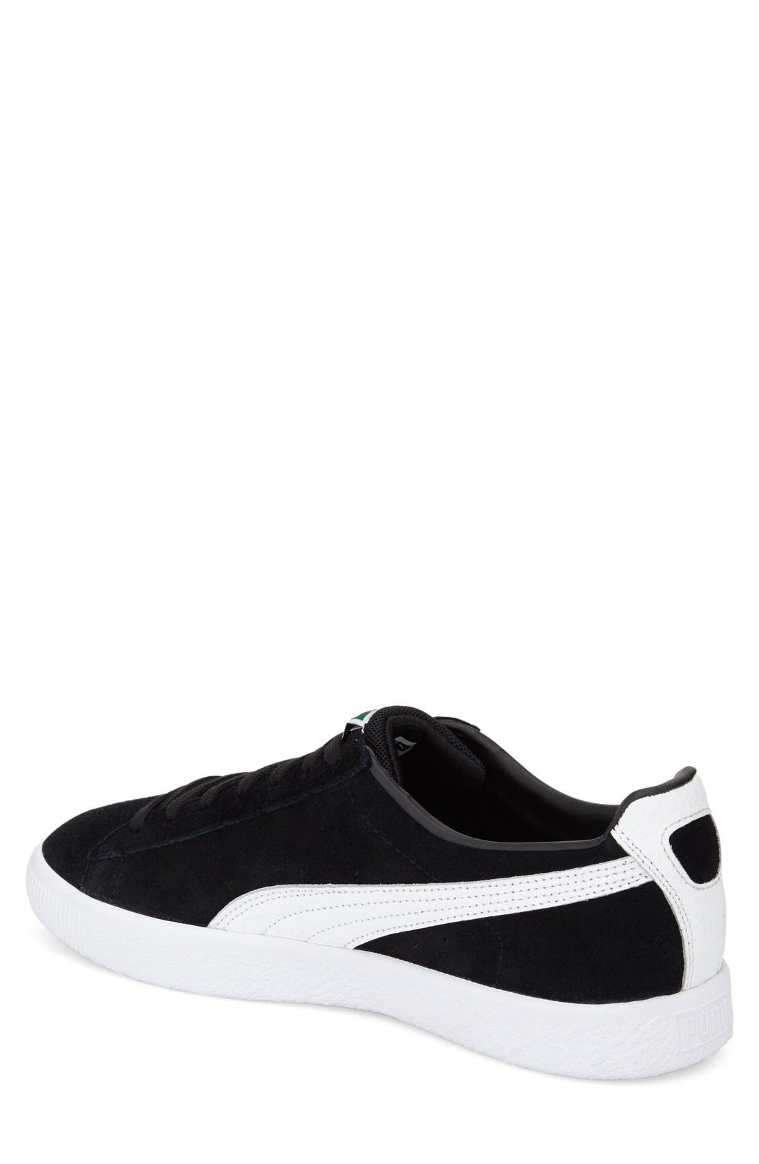 'Clyde B&C' Sneaker,                             Alternate thumbnail 2, color,                             001