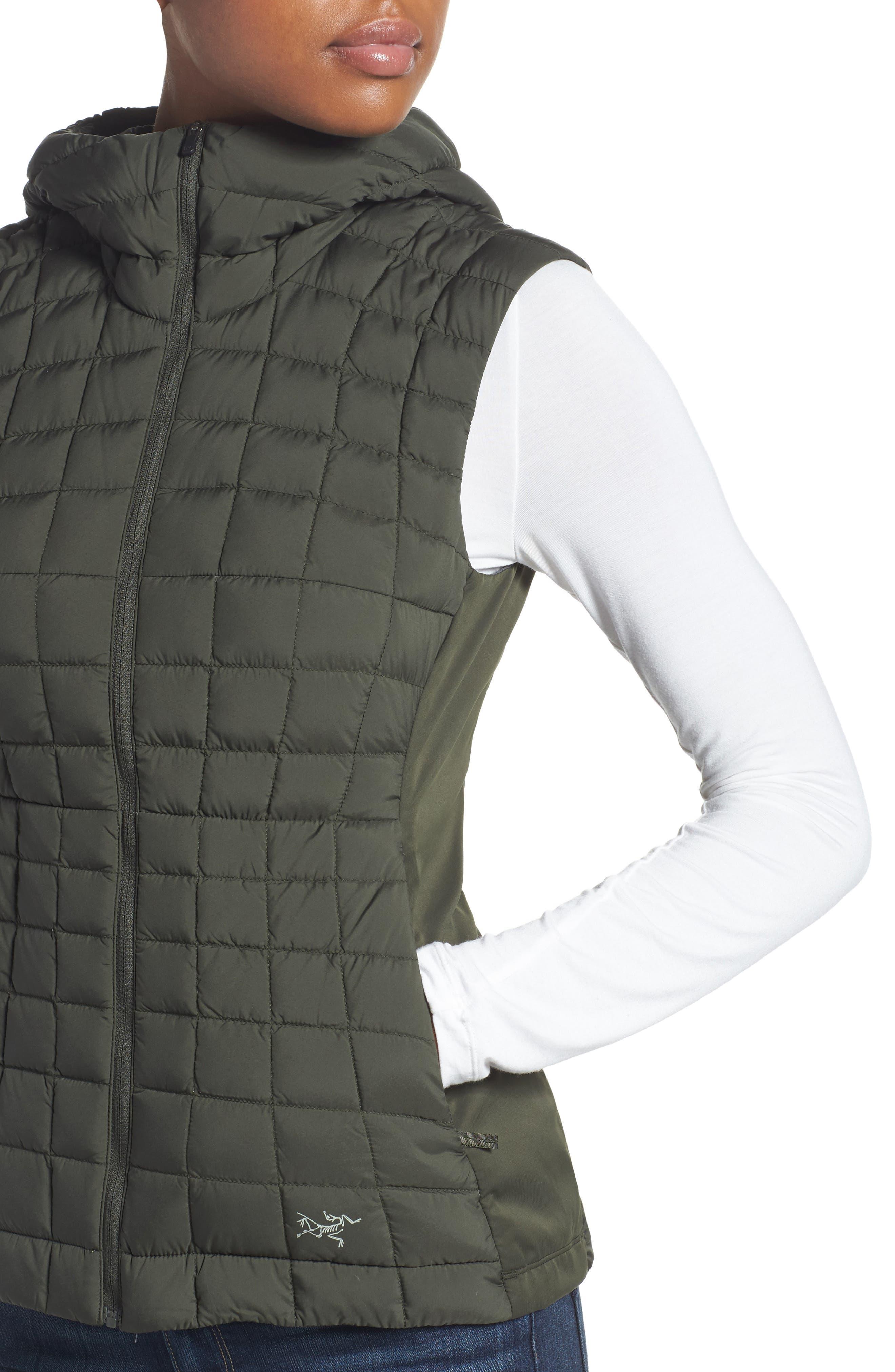 'Narin' Water Repellent Vest,                             Alternate thumbnail 4, color,                             300
