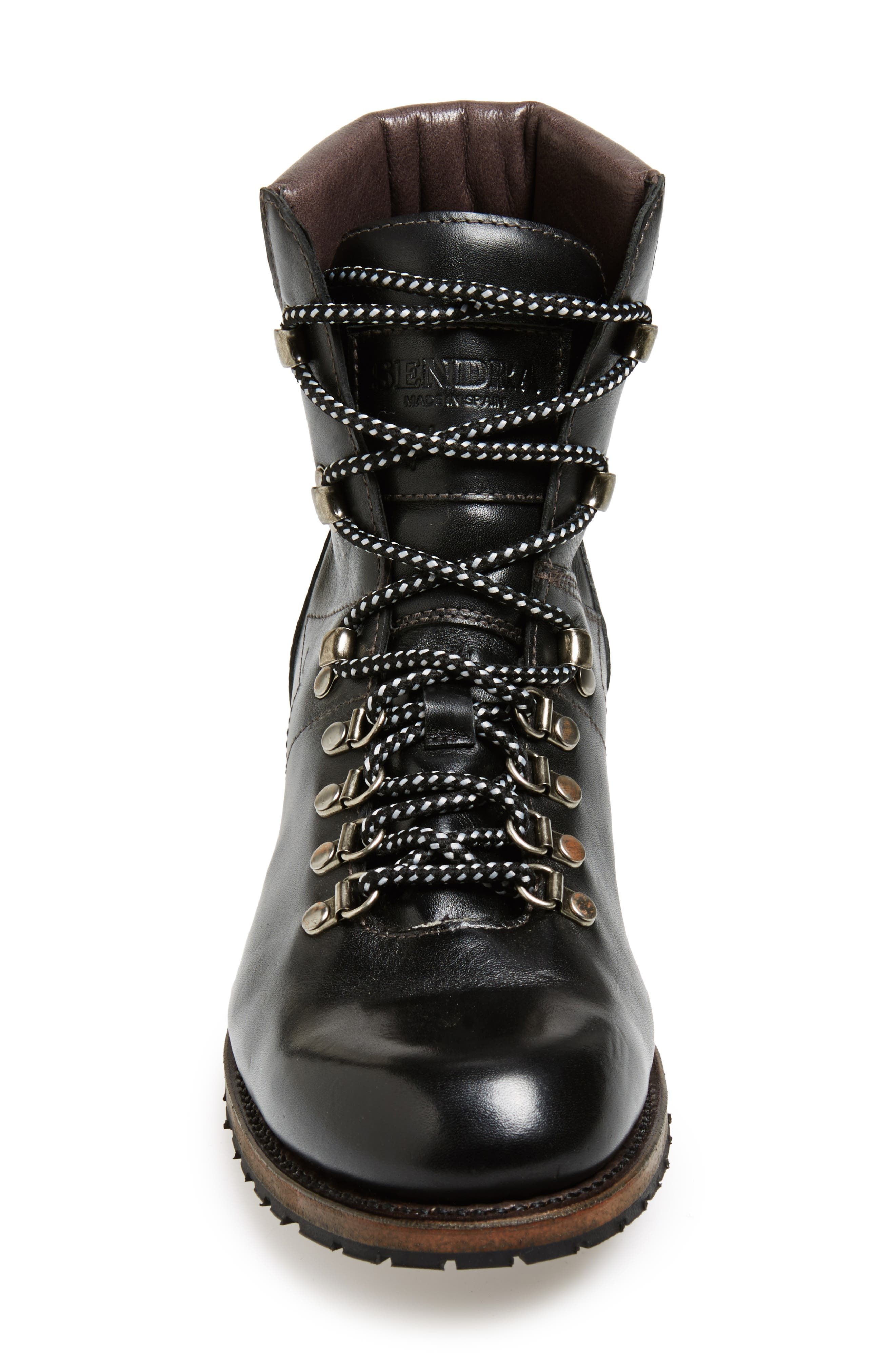 'Alpine' Round Toe Boot,                             Alternate thumbnail 3, color,                             001