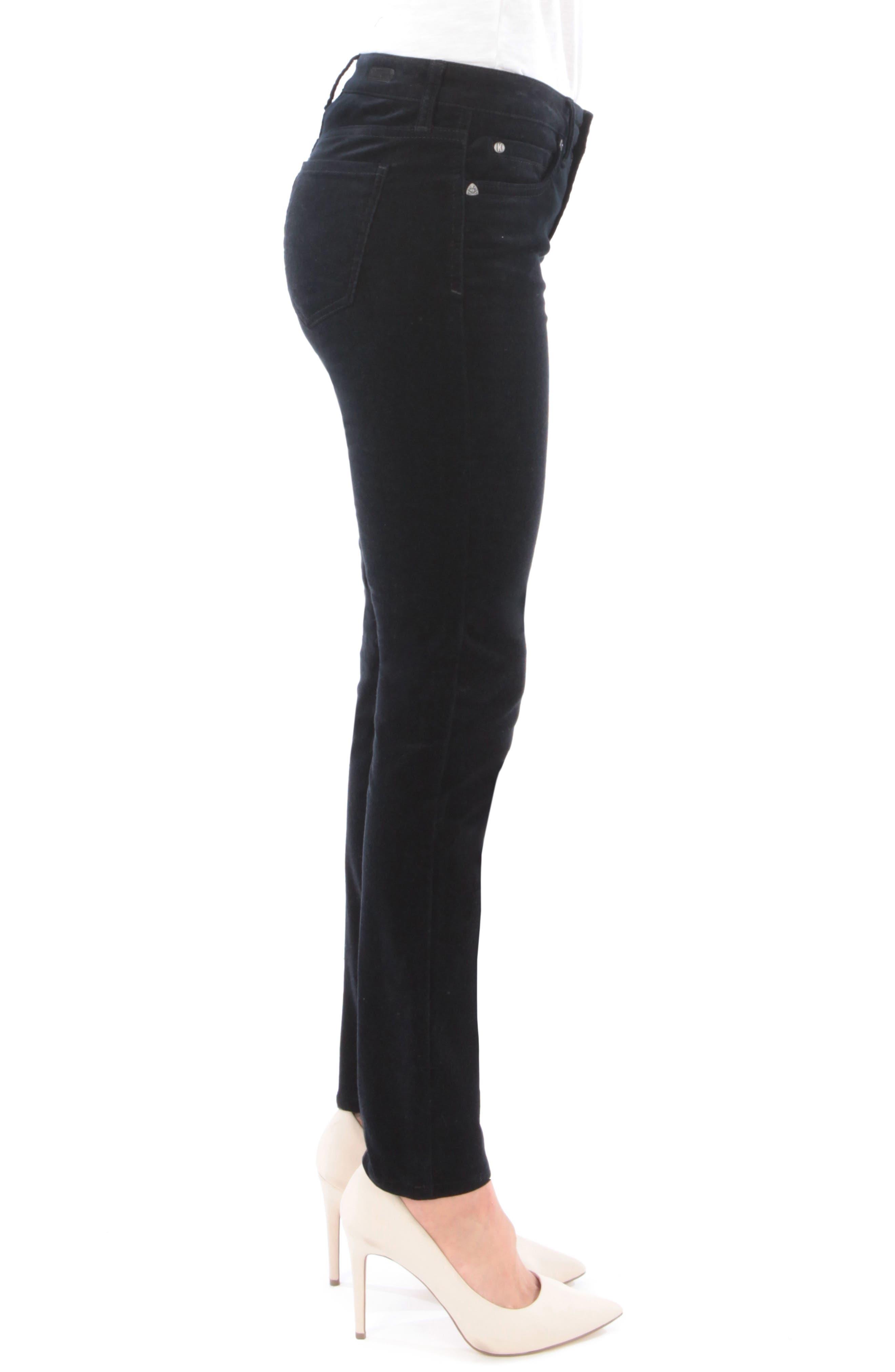 'Diana' Stretch Corduroy Skinny Pants,                             Alternate thumbnail 105, color,