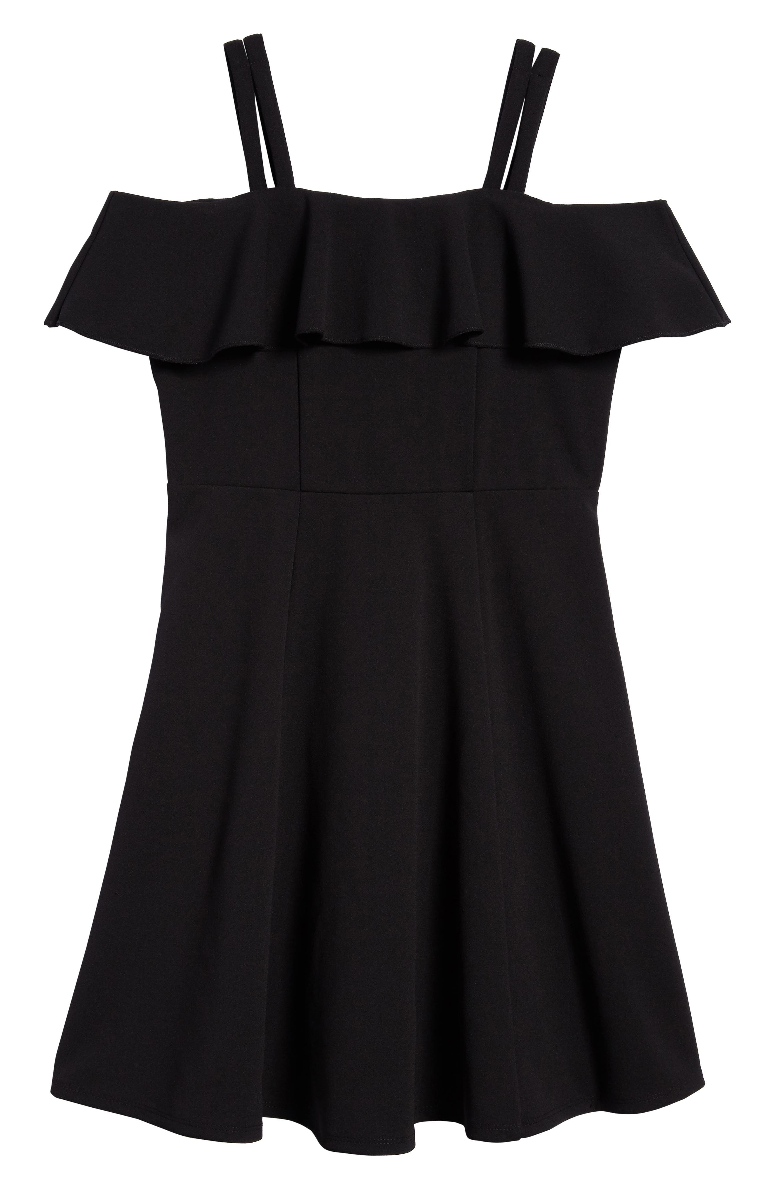 Off the Shoulder Ruffle Dress,                         Main,                         color,