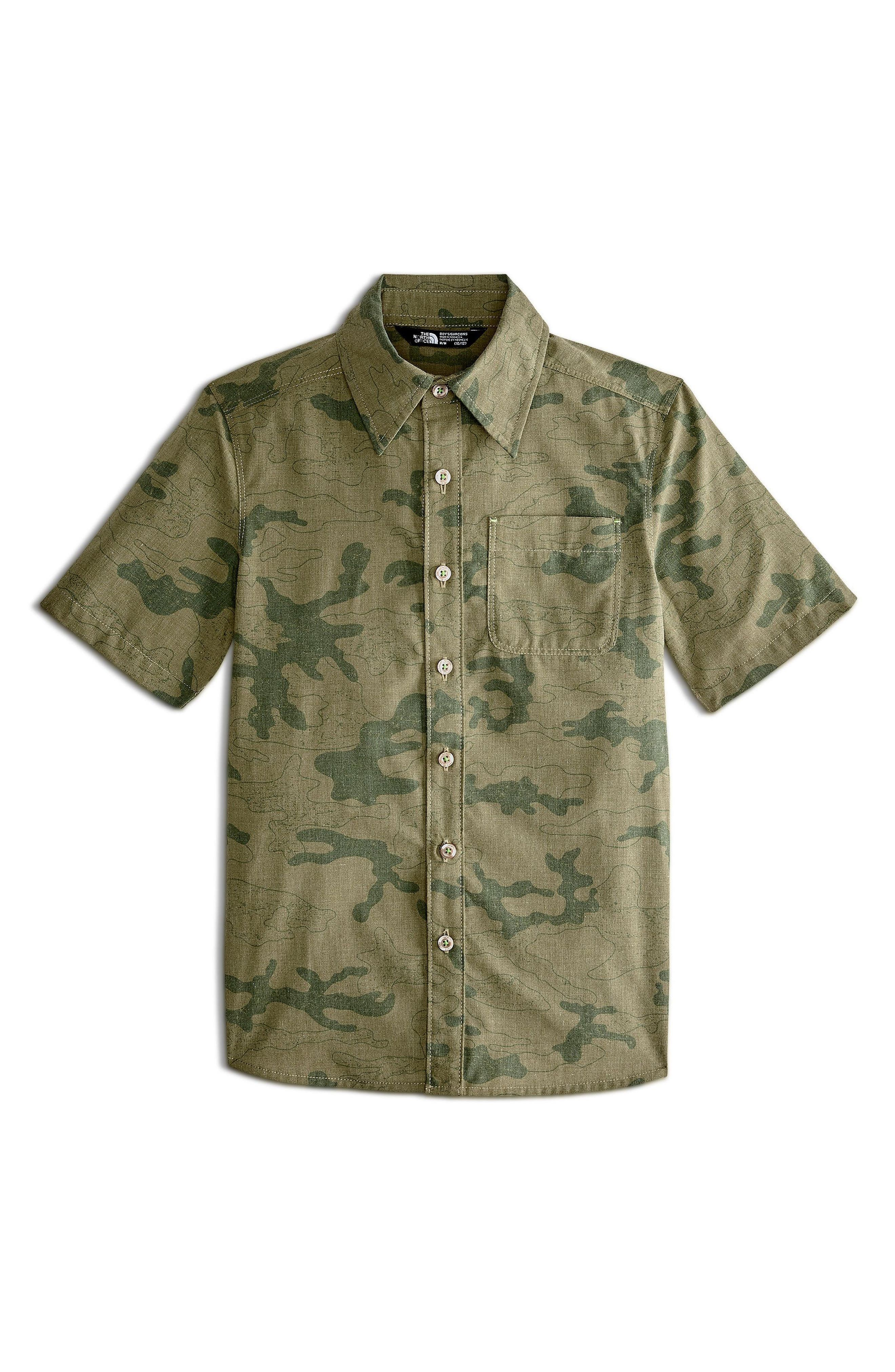 Pursuit Print Woven Shirt,                             Main thumbnail 1, color,                             301