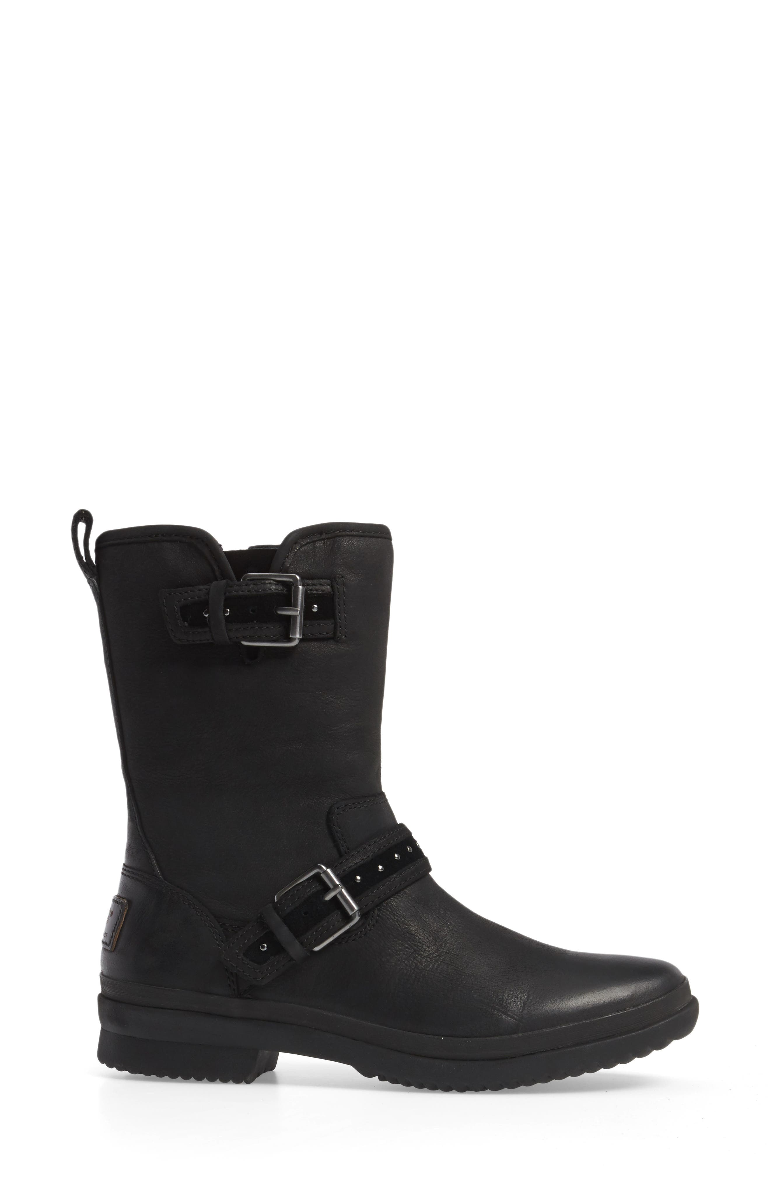 Jenise Waterproof Boot,                             Alternate thumbnail 5, color,