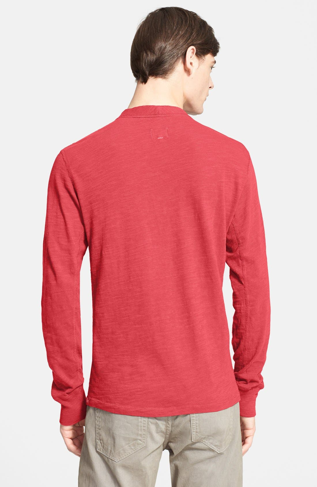 Standard Issue Slub Cotton Henley,                             Alternate thumbnail 24, color,