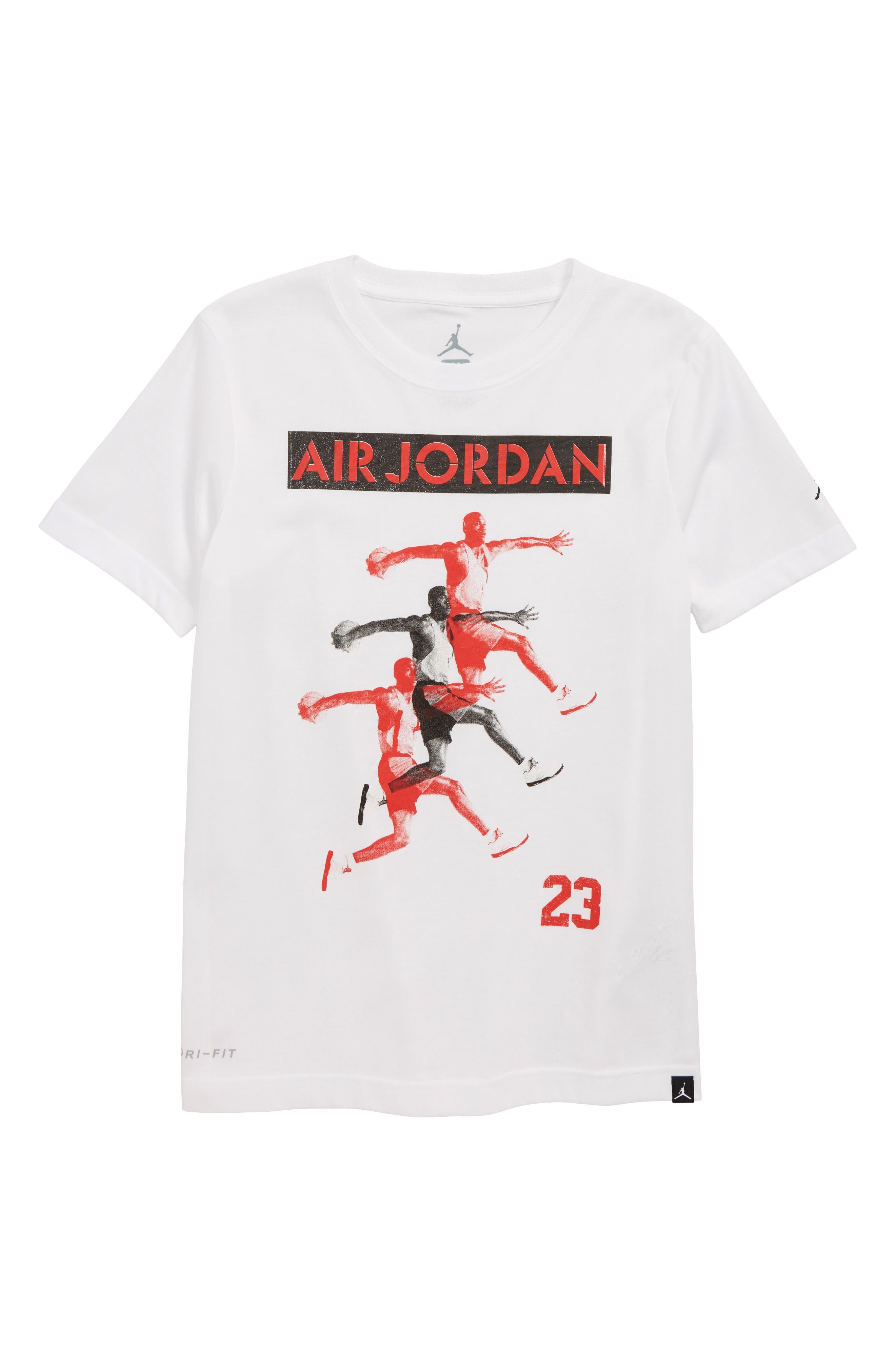 Jordan Basketball T-Shirt,                         Main,                         color, 100