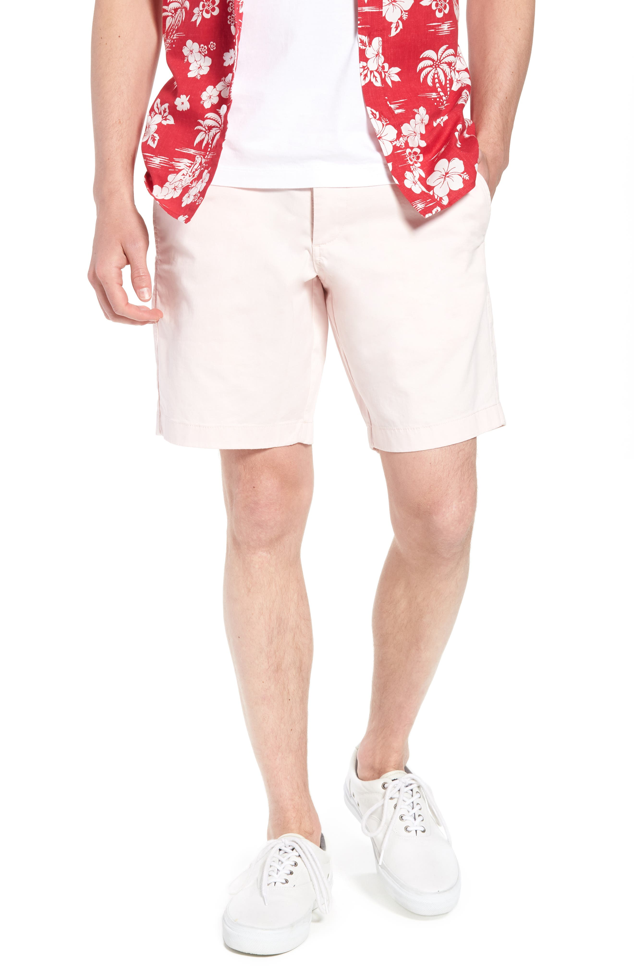 Ballard Slim Fit Stretch Chino 9-Inch Shorts,                             Main thumbnail 12, color,