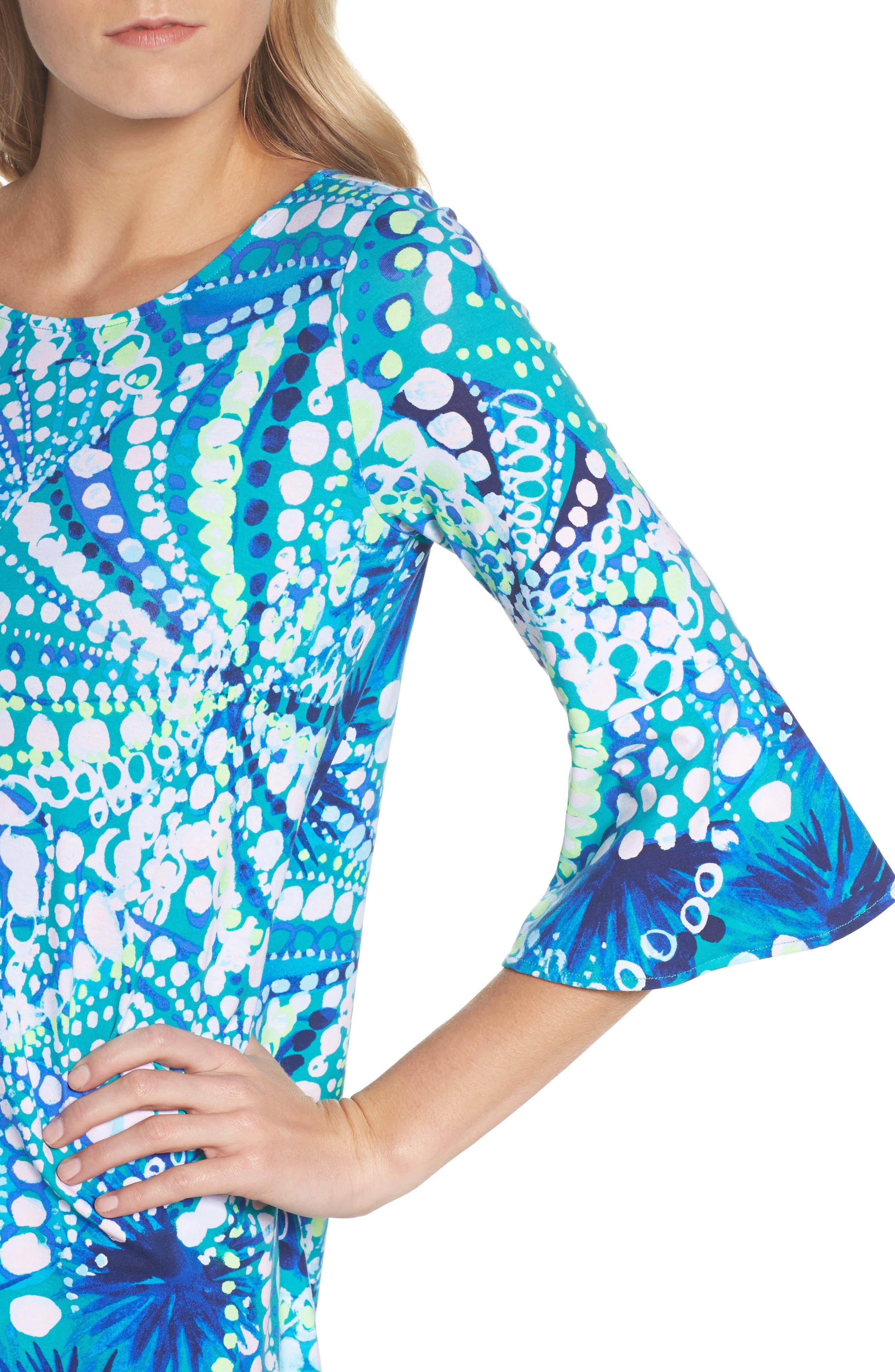 Ophelia Swing Dress,                             Alternate thumbnail 4, color,                             391