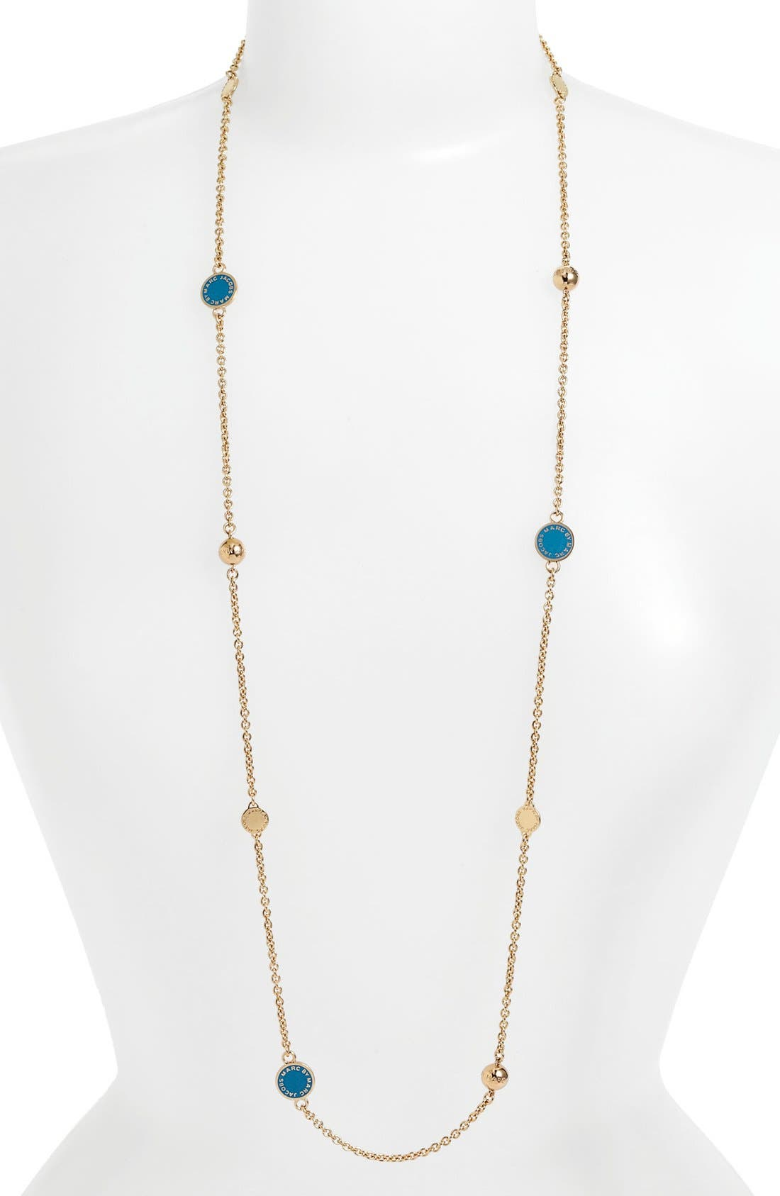 'Classic Marc' Long Necklace,                             Main thumbnail 5, color,