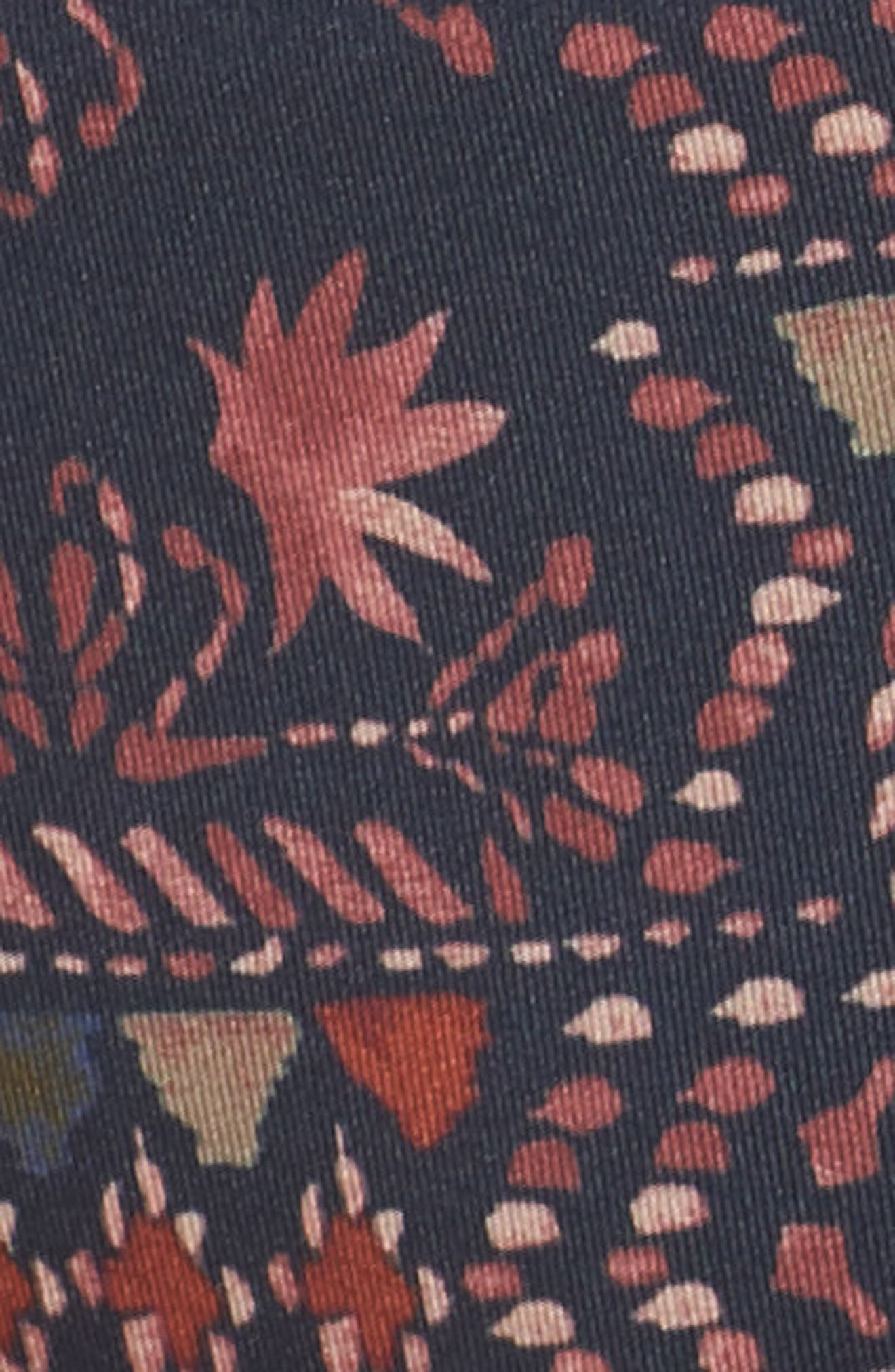Sunamee Bikini Bottoms,                             Alternate thumbnail 5, color,                             FIRESIDE: NAVY BLUE
