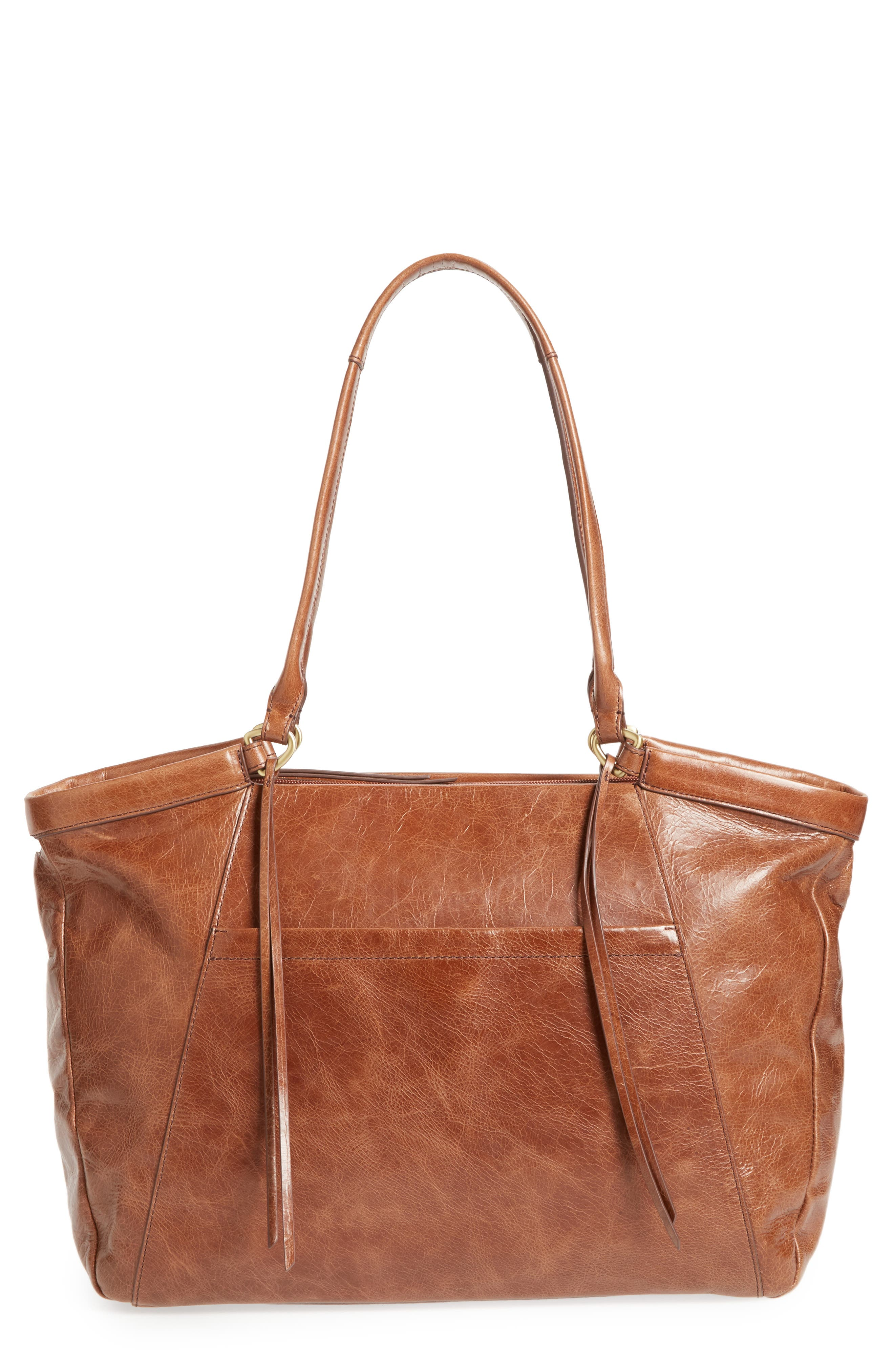 Maryanna Leather Tote,                             Main thumbnail 5, color,