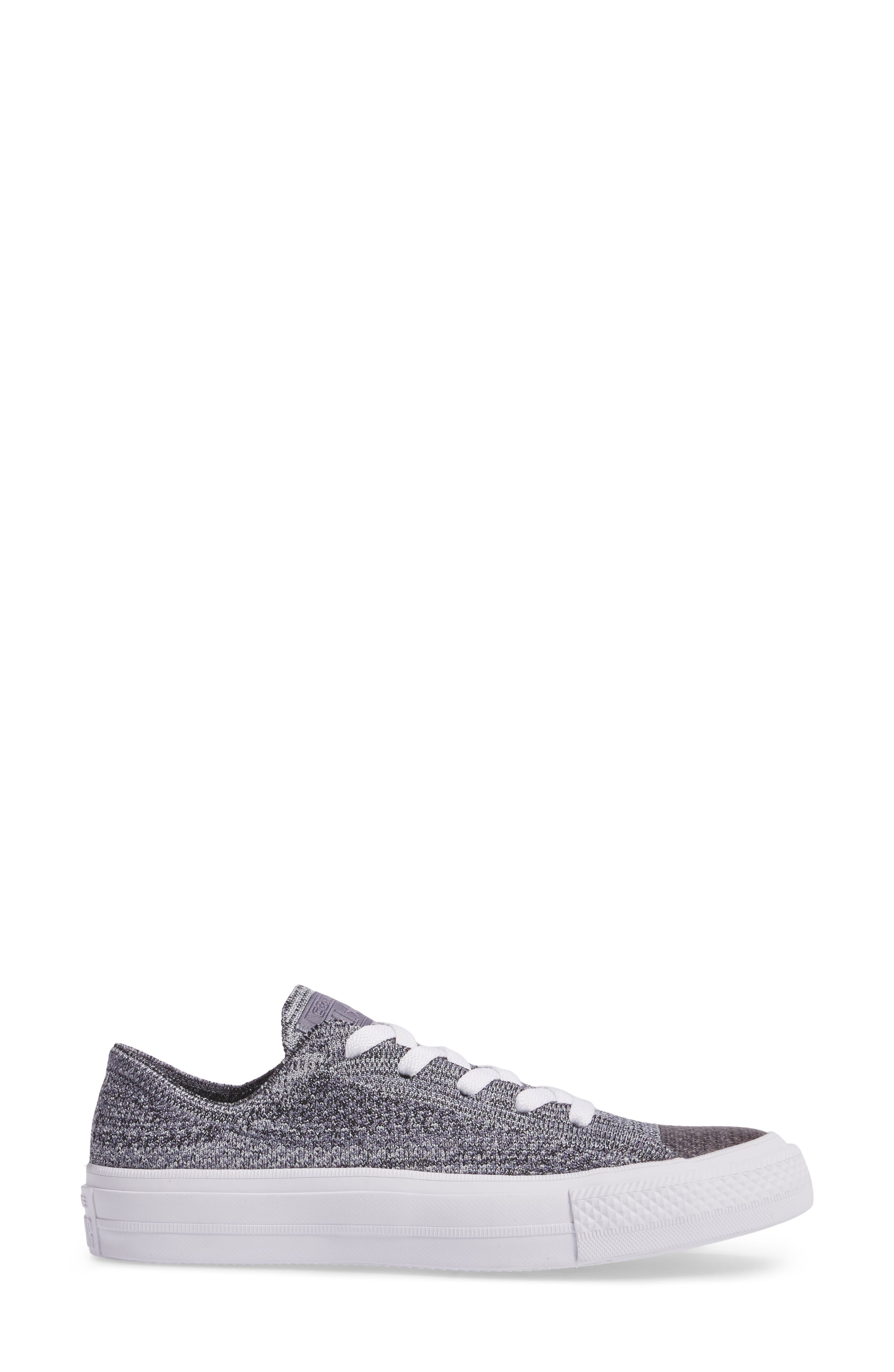 All Star<sup>®</sup> Flyknit Low Sneaker,                             Alternate thumbnail 3, color,                             027