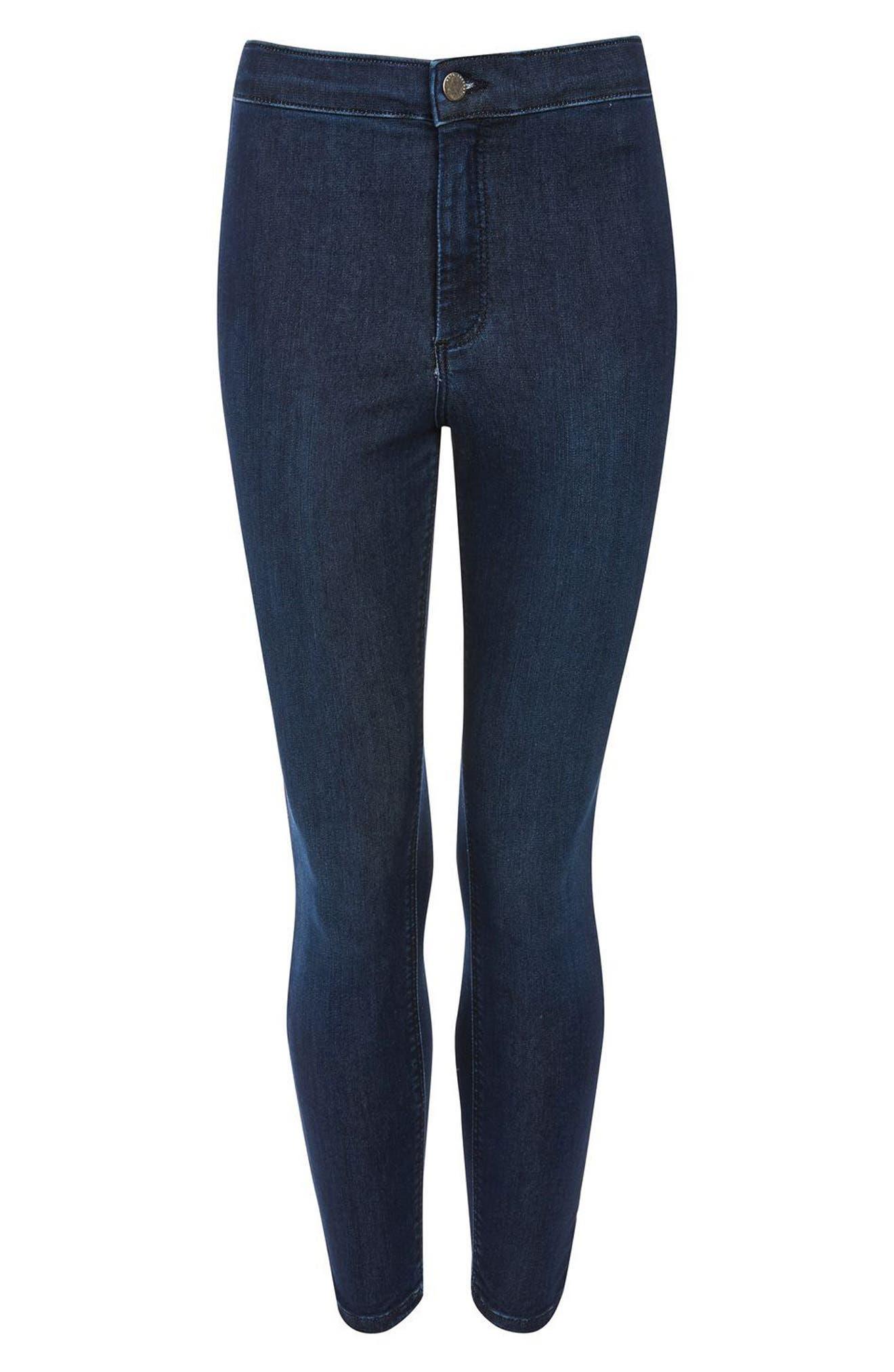 Joni High Waist Skinny Jeans,                             Alternate thumbnail 3, color,                             401