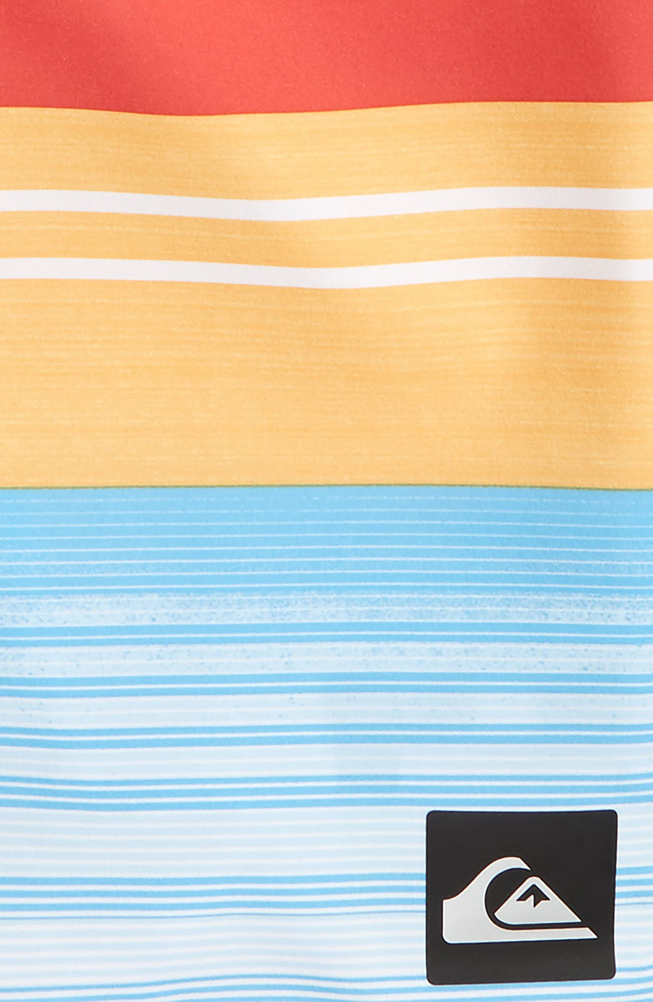 Everyday Stripe Vee Board Shorts,                             Main thumbnail 3, color,