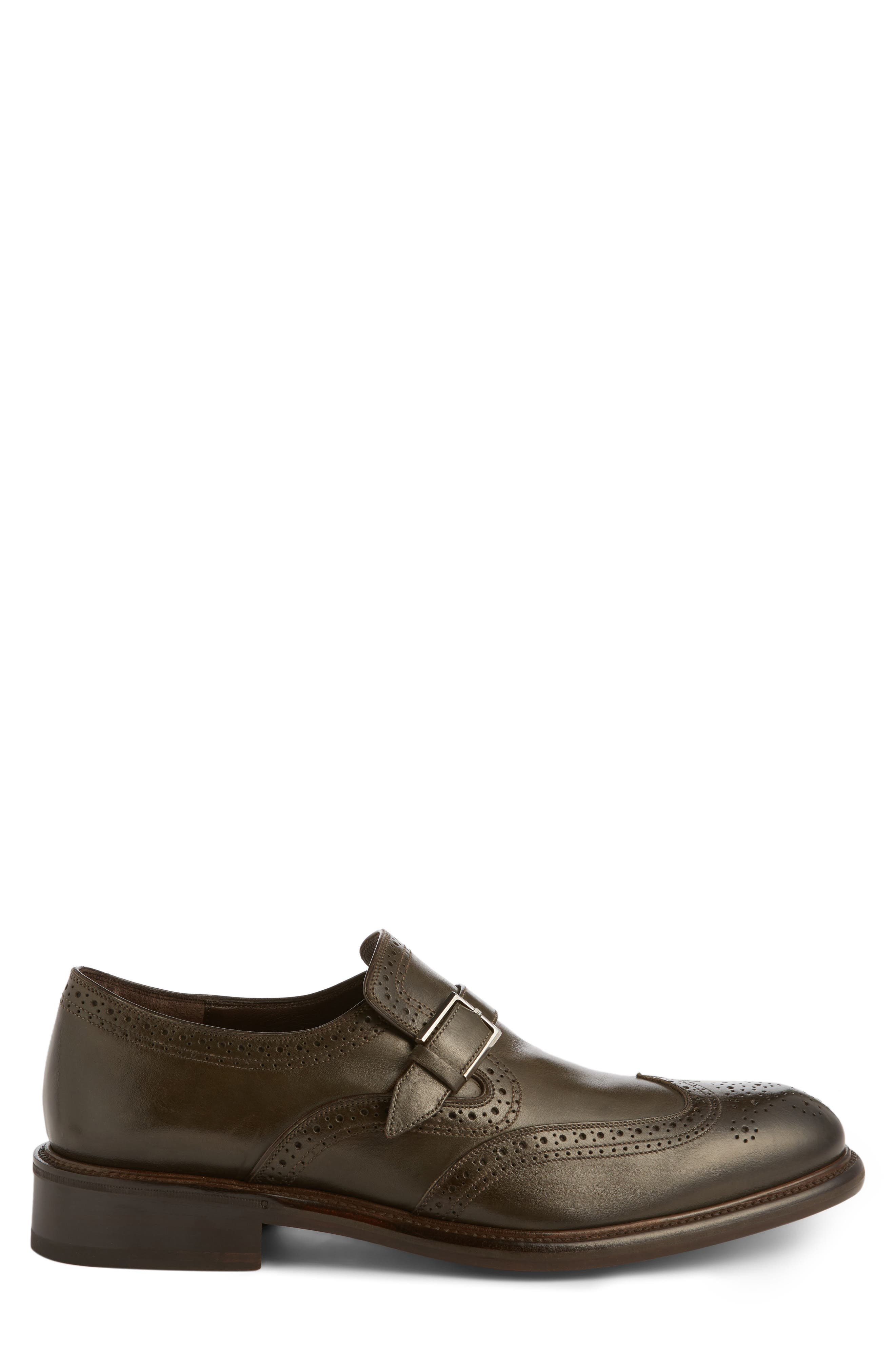 Monk Strap Shoe,                             Alternate thumbnail 3, color,                             209
