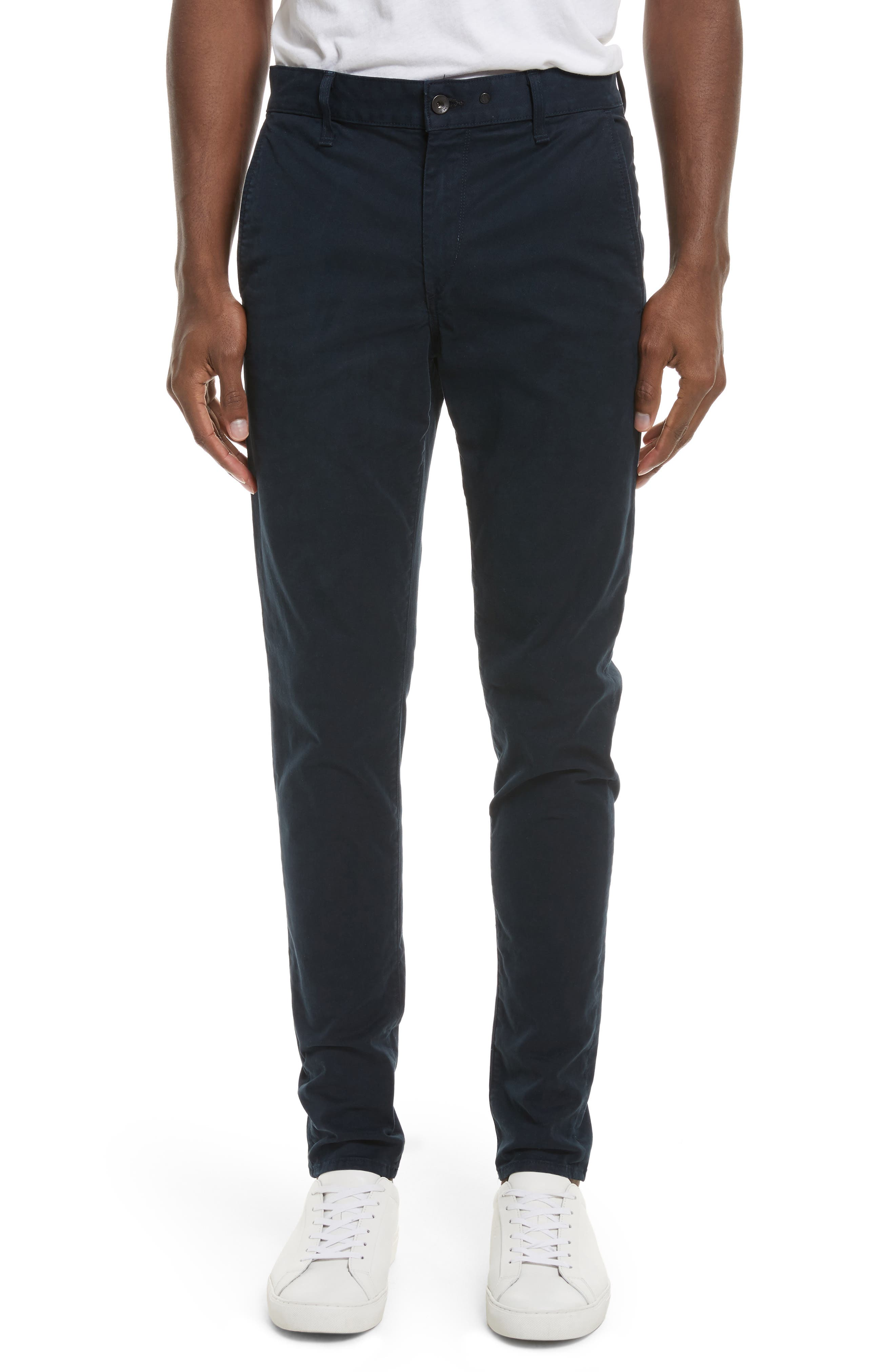 Fit 1 Chinos,                         Main,                         color, NAVY