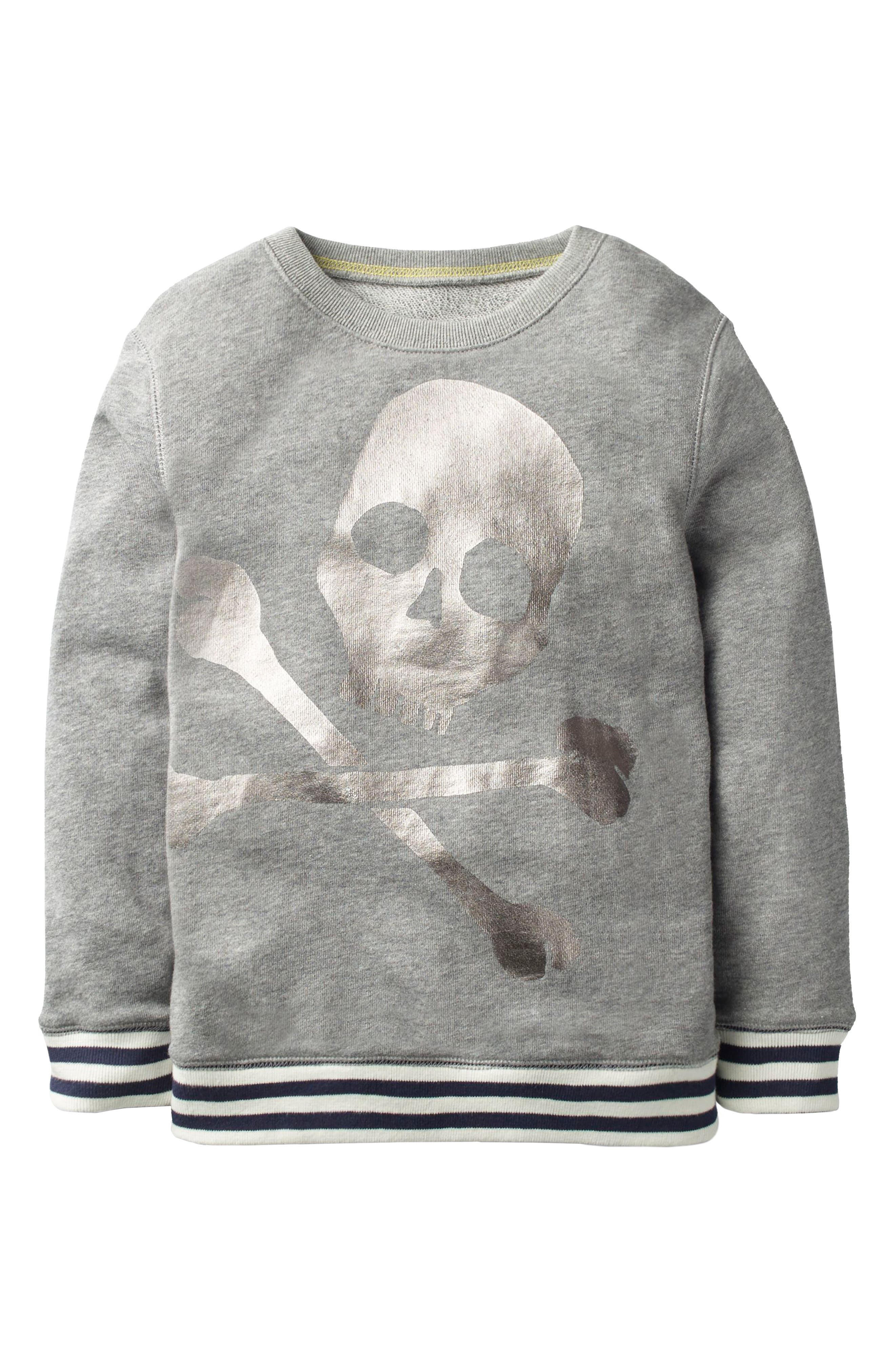 Fun Skull Sweatshirt,                         Main,                         color, 034