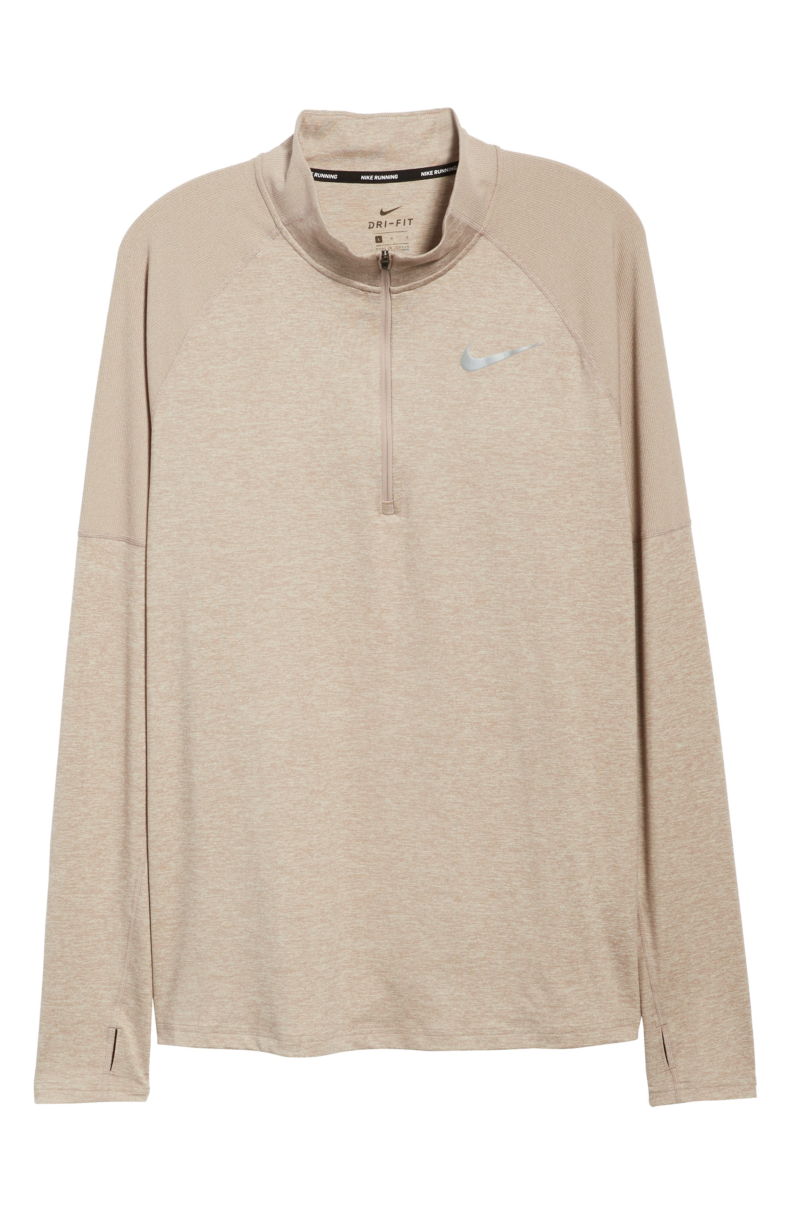 Element HZ 2.0 Performance Pullover,                             Alternate thumbnail 6, color,                             DIFFUSED TAUPE/ SAND/ HEATHER