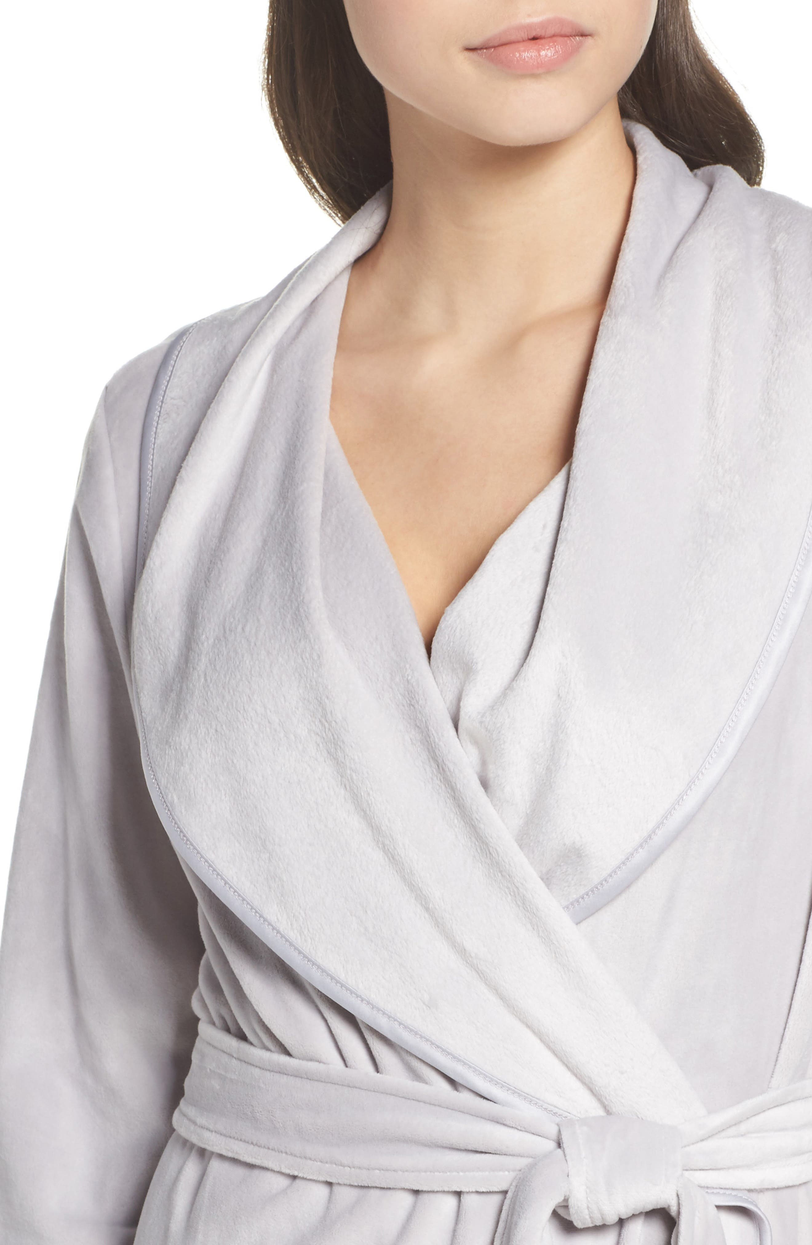 Luxe Shawl Robe,                             Alternate thumbnail 4, color,                             050