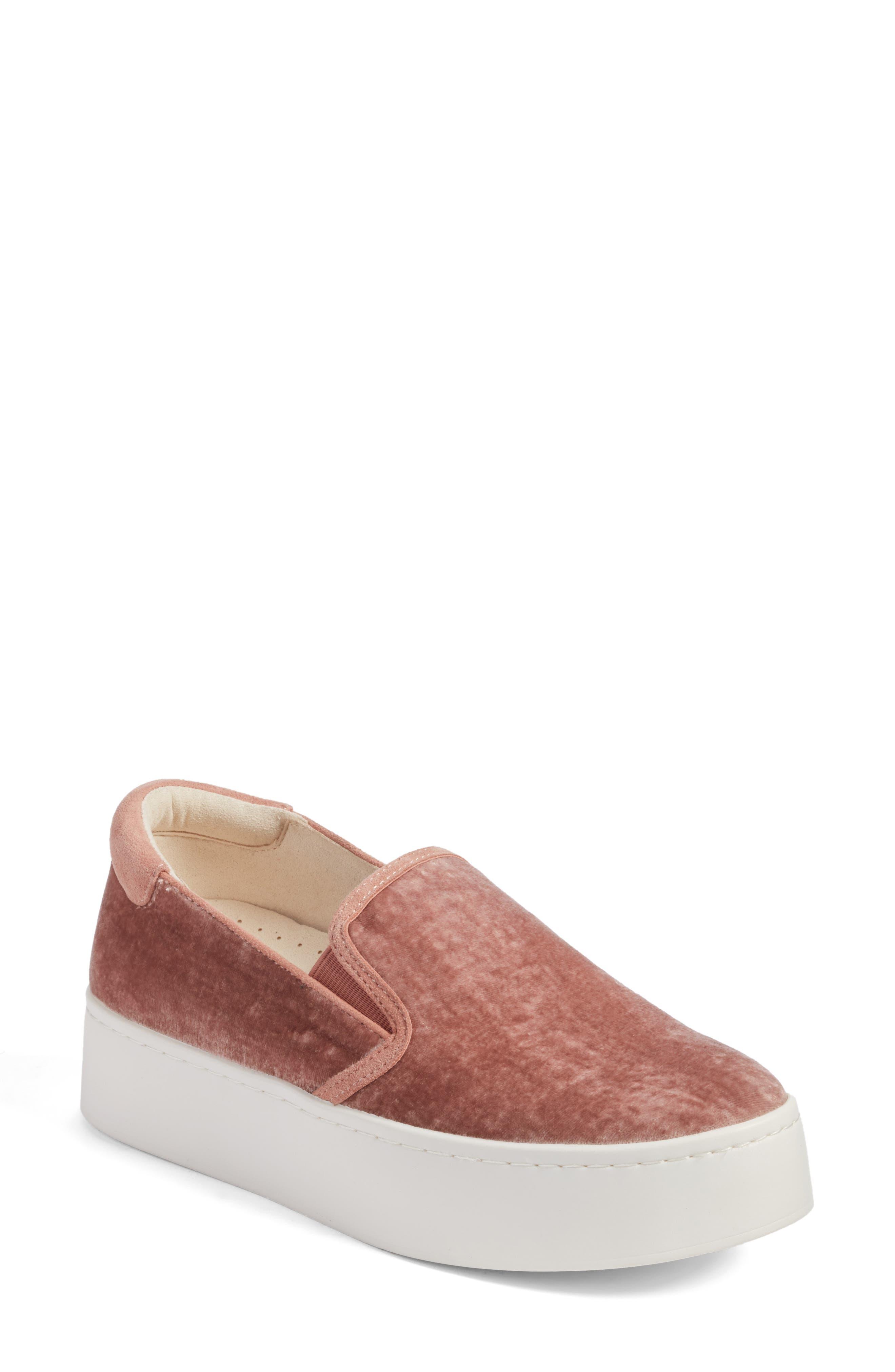Joanie Slip-On Platform Sneaker,                             Main thumbnail 7, color,