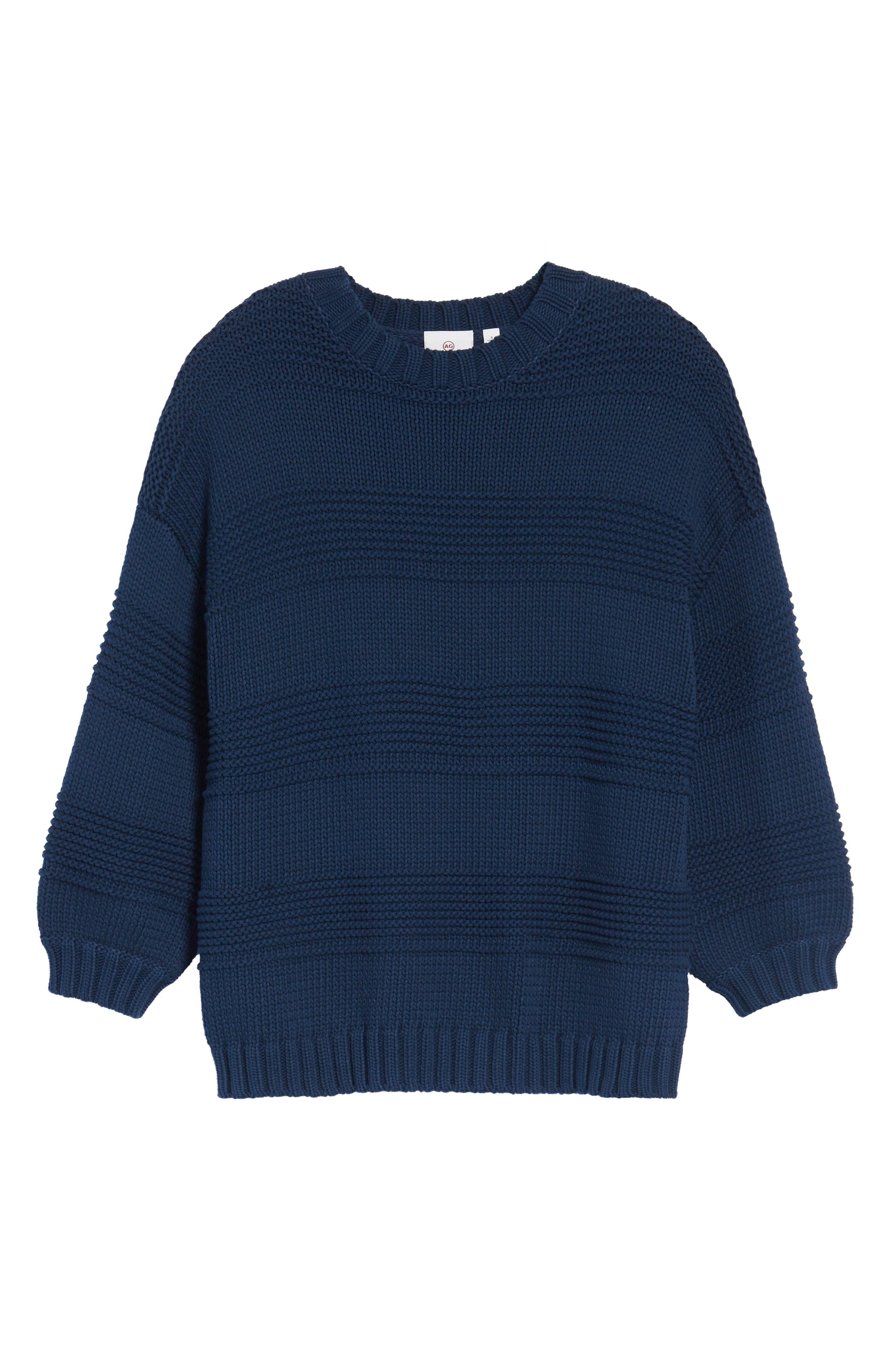 Sabrina Crewneck Sweater,                             Alternate thumbnail 6, color,                             417