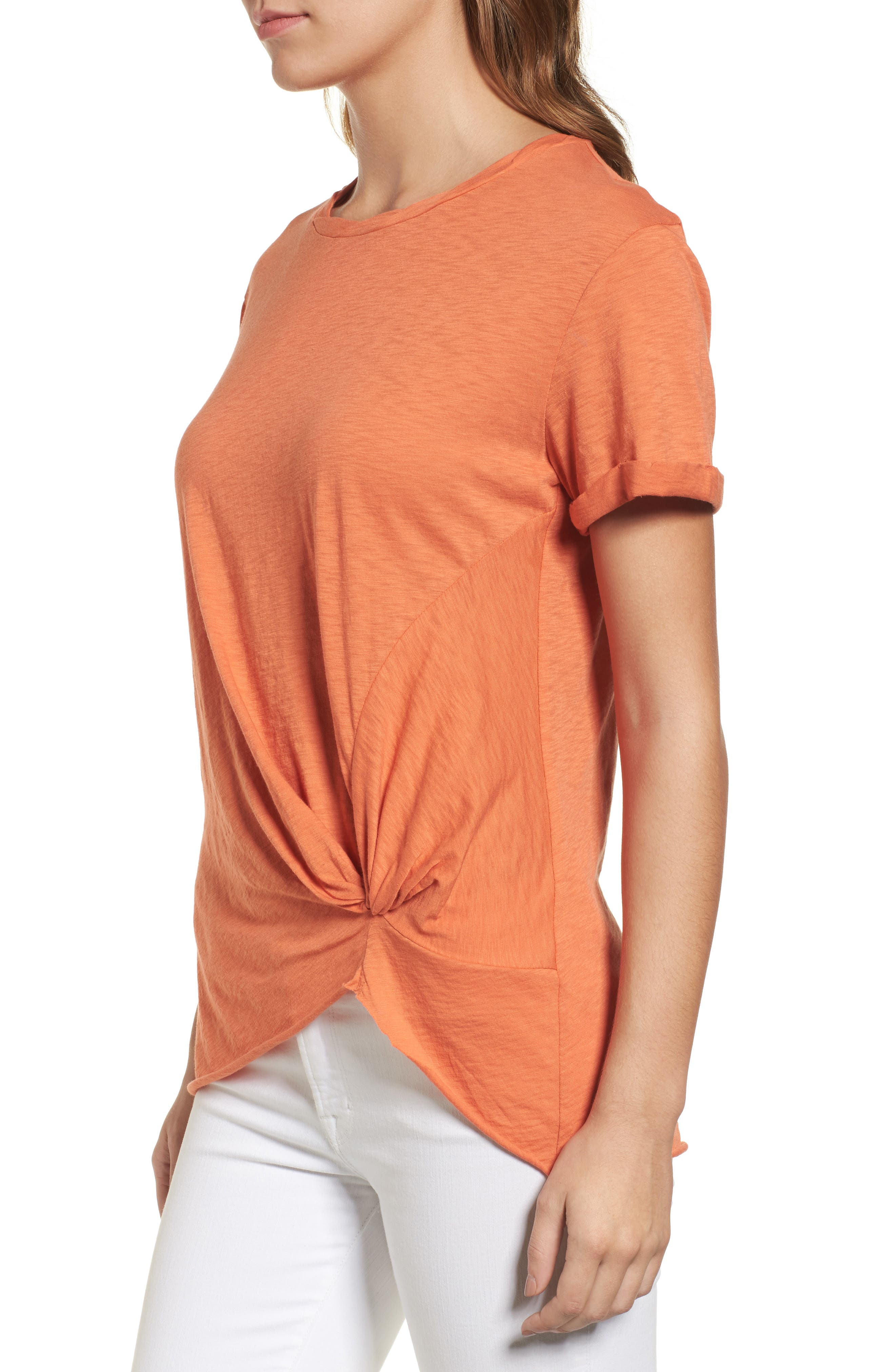 Knotted Tee,                             Alternate thumbnail 33, color,