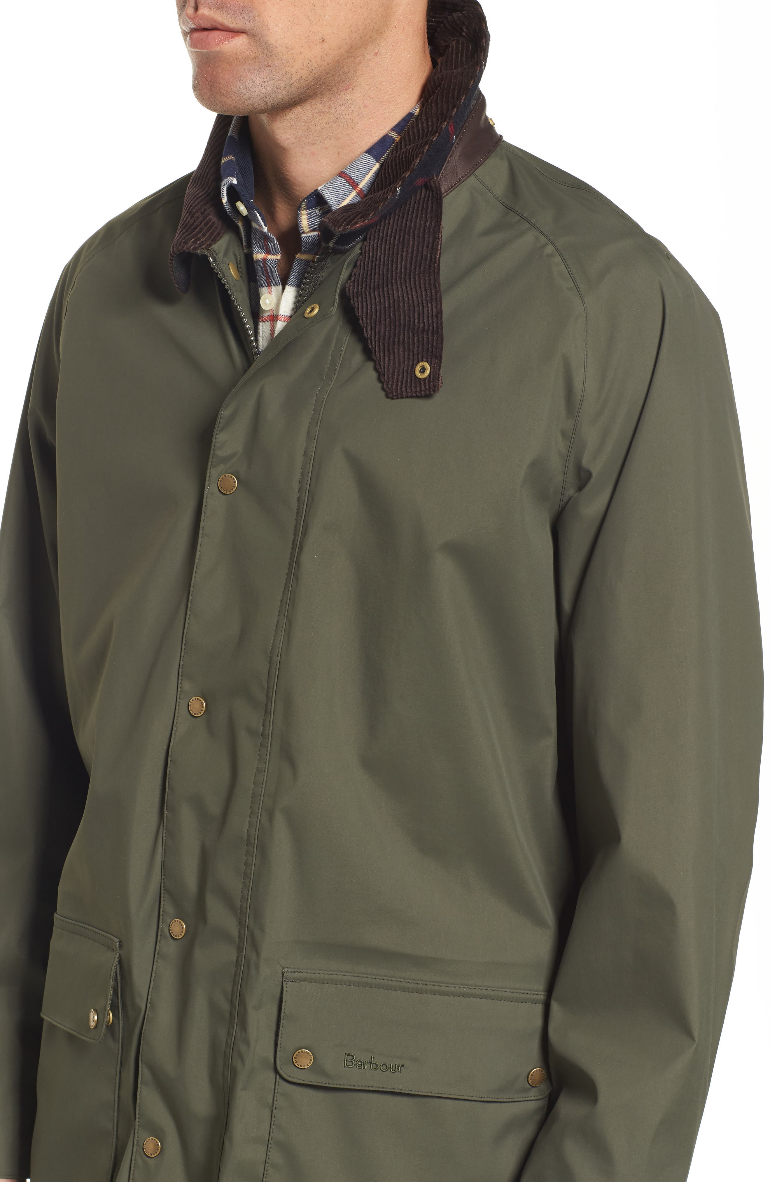 Scarisbrick Waterproof Jacket,                             Alternate thumbnail 4, color,                             340