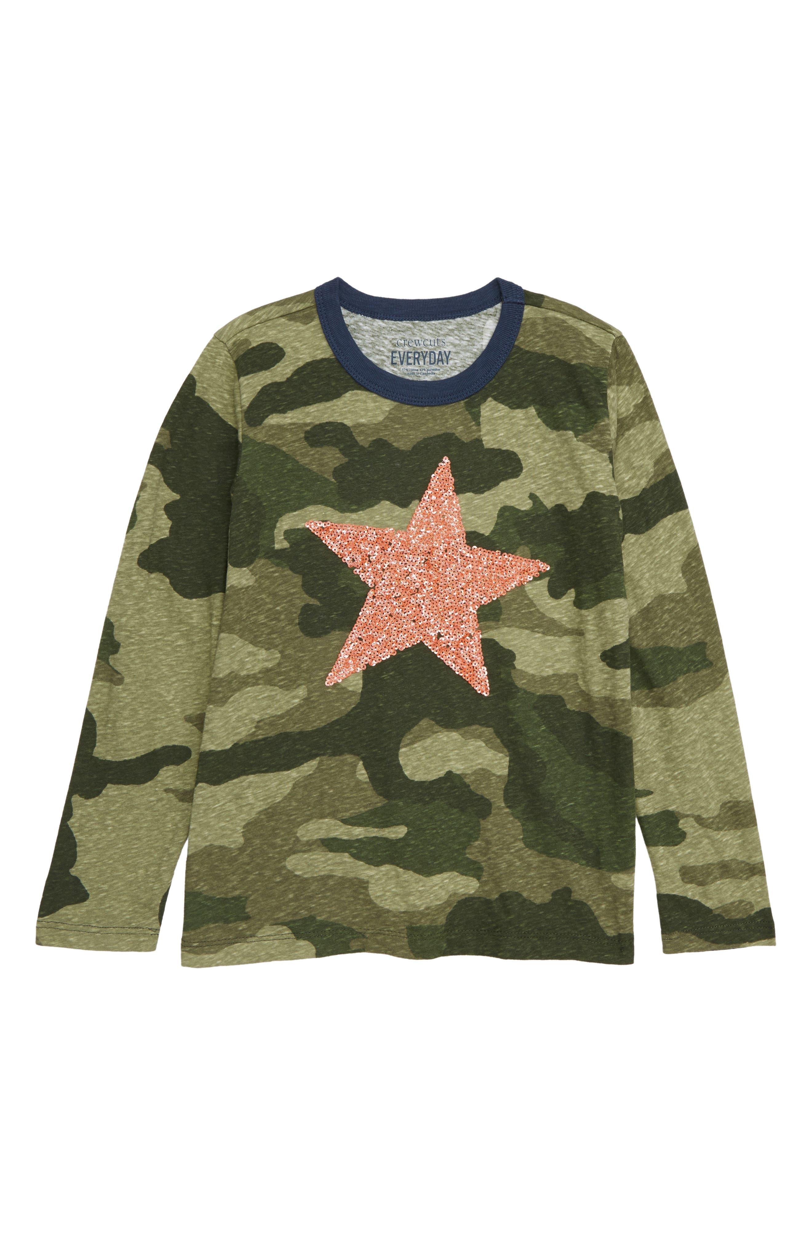 Shining Star Tee,                         Main,                         color, CAMO