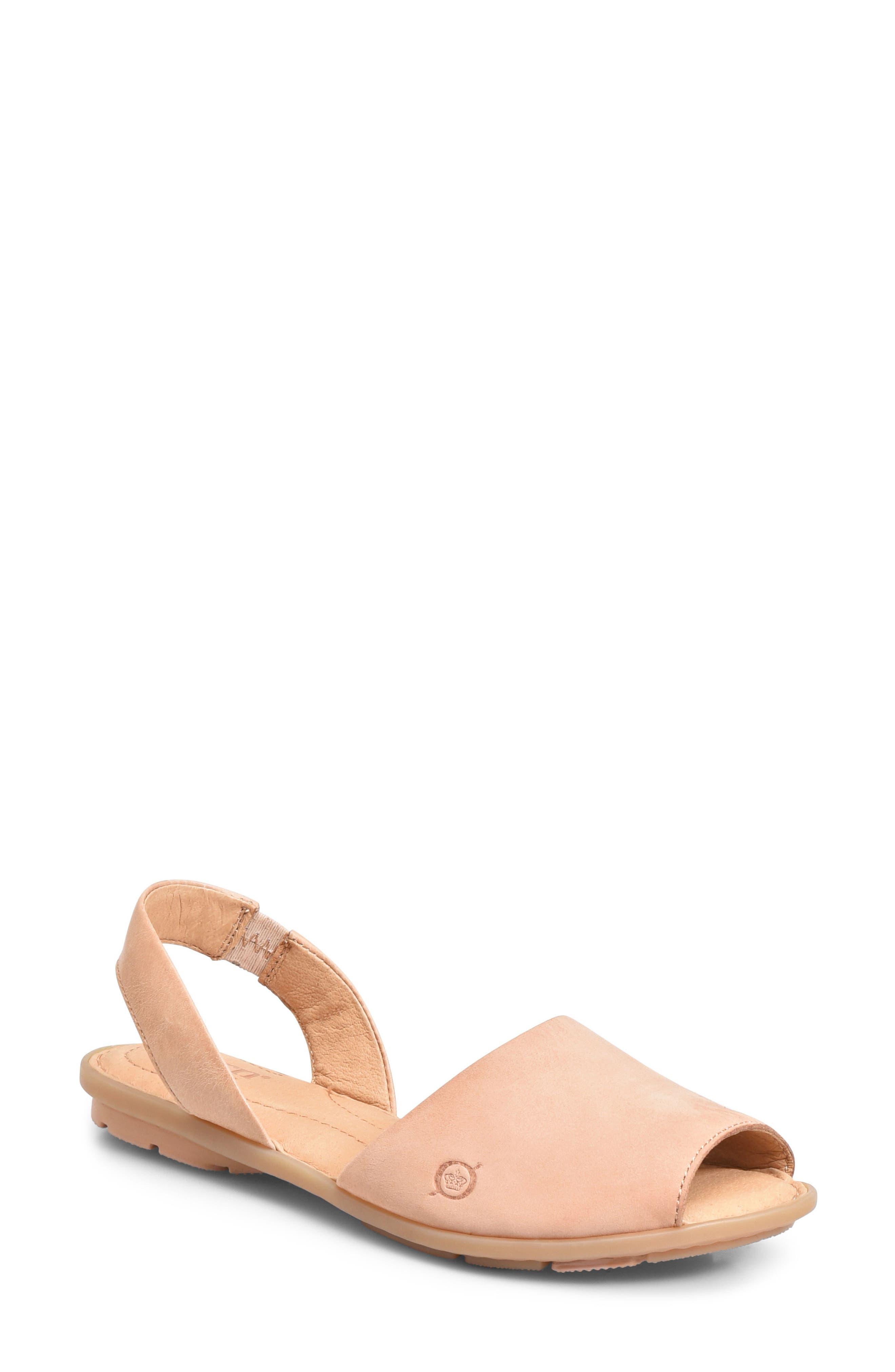 Trang Sandal,                         Main,                         color, BLUSH LEATHER