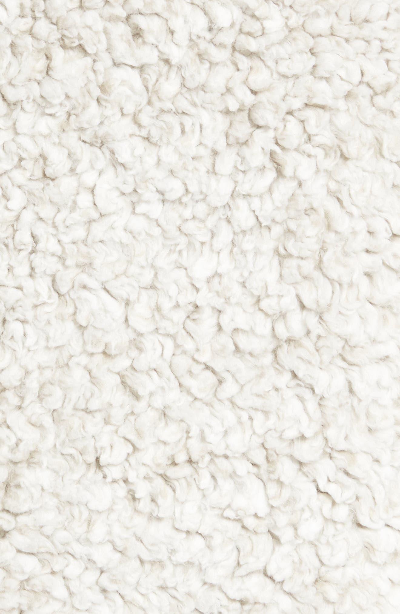 Double Up Frosty Tipped Faux Fur Vest,                             Alternate thumbnail 12, color,