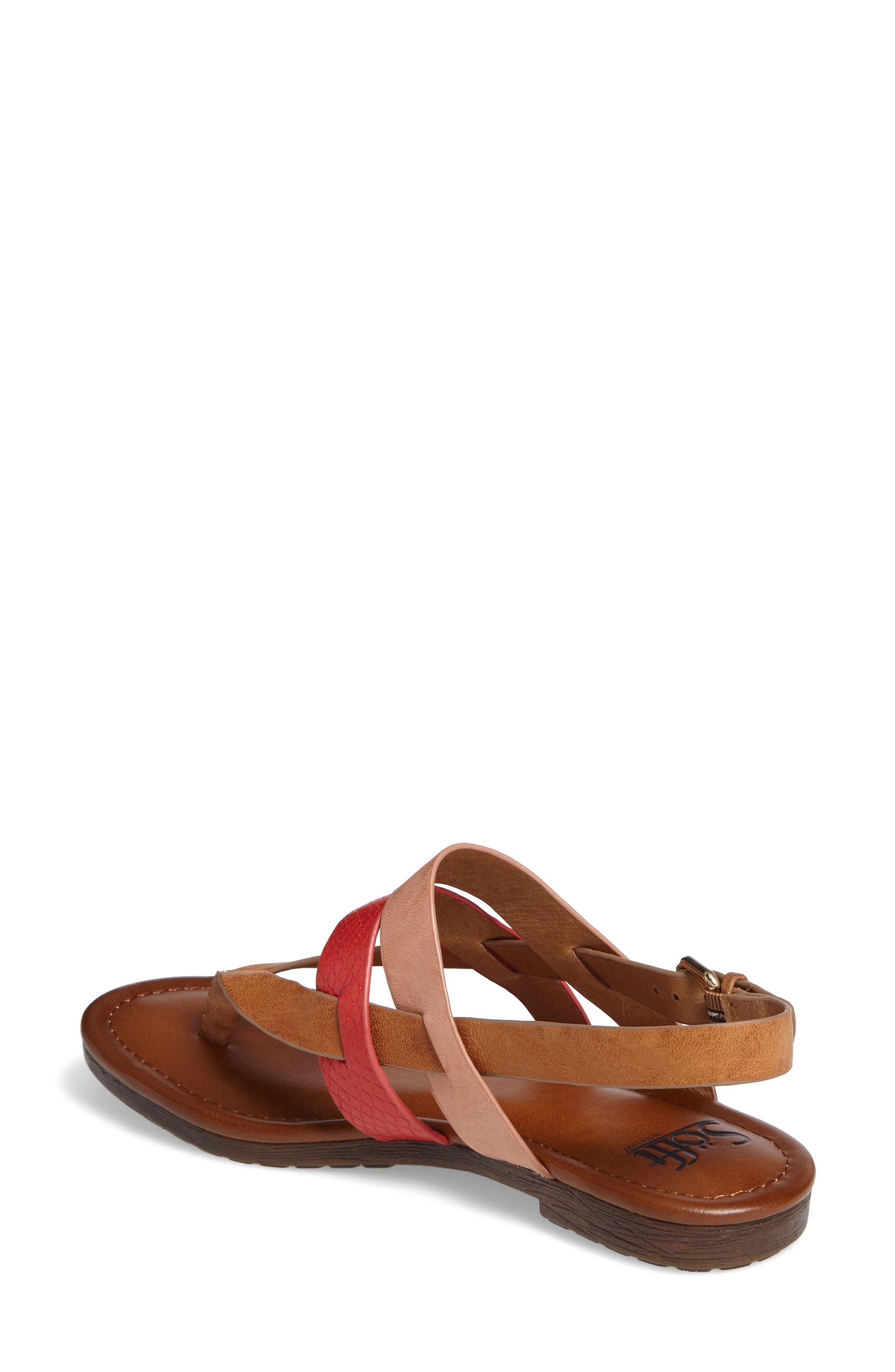 Bena Strappy Sandal,                             Alternate thumbnail 5, color,