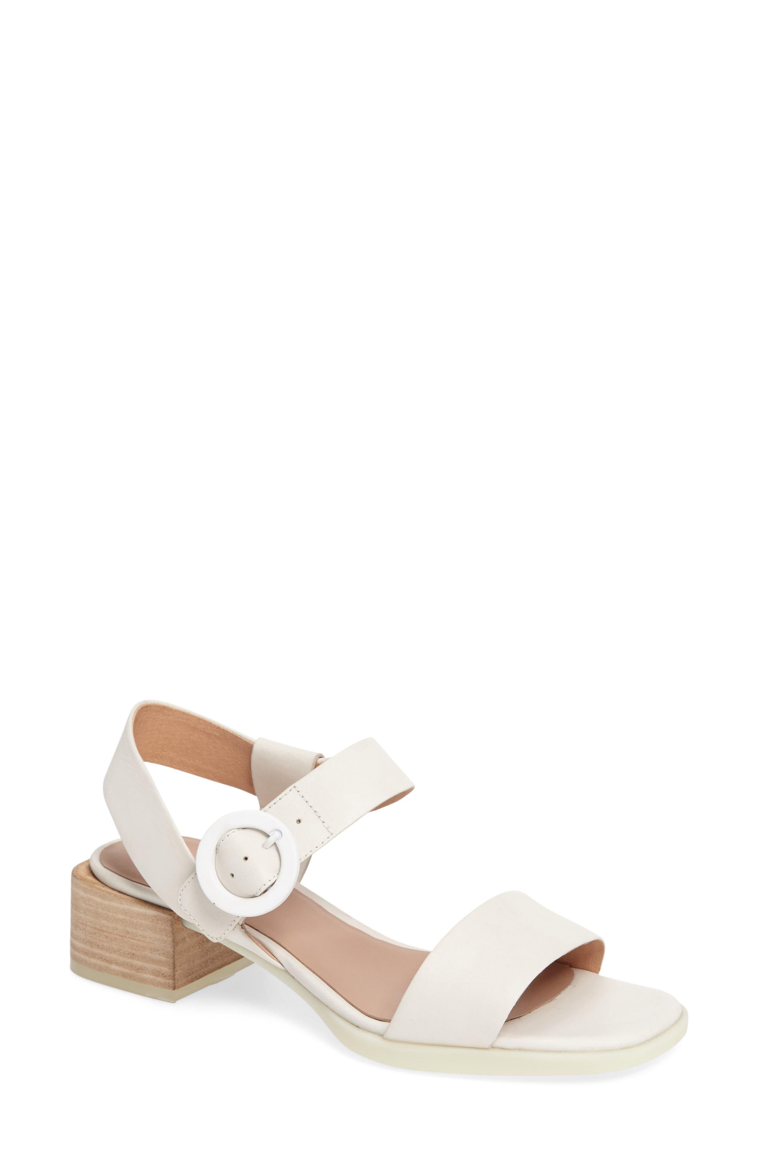 Kobo Buckle Strap Sandal,                         Main,                         color, 100