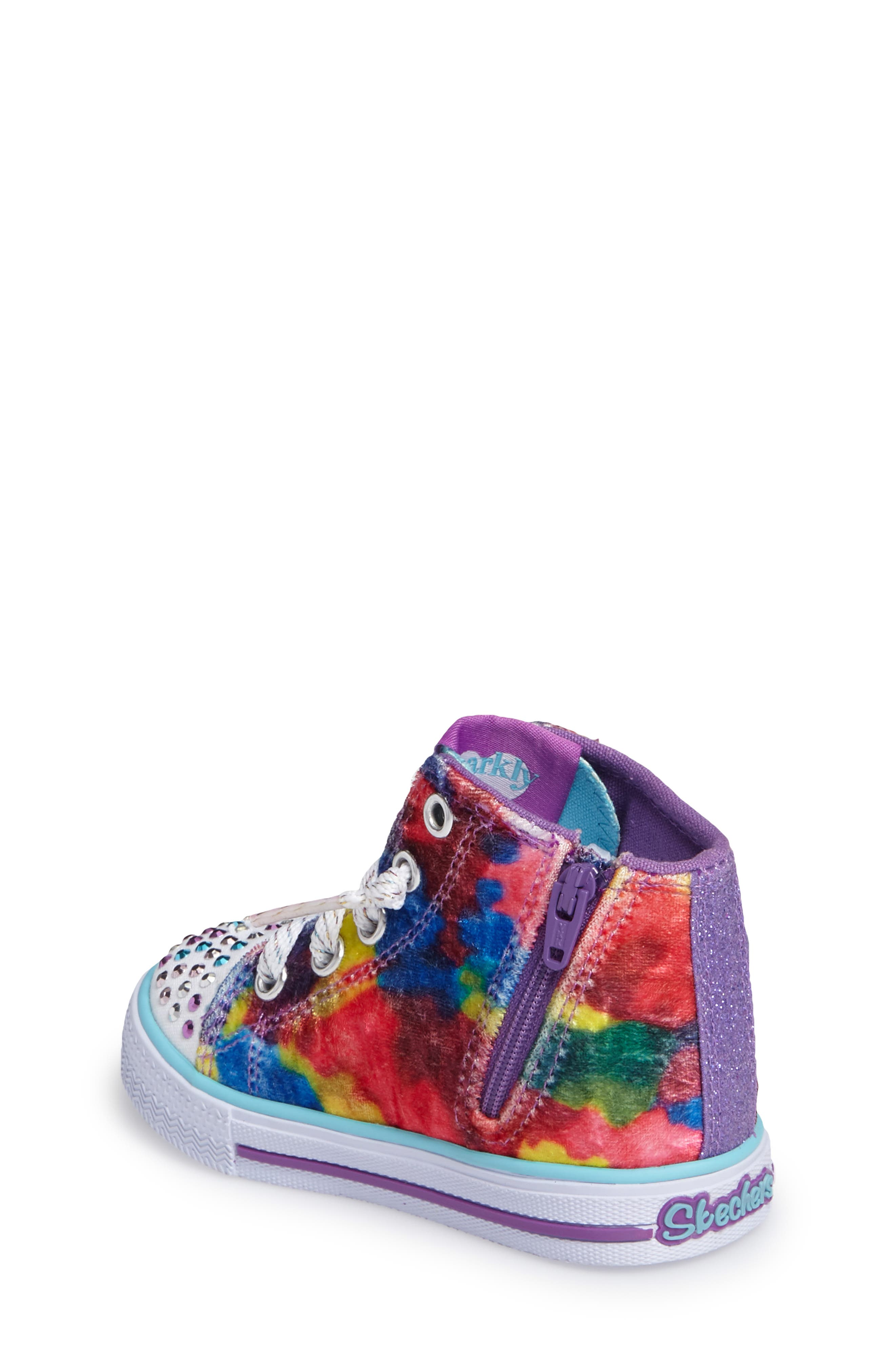 Twinkle Toes Shuffles Light-Up High Top Sneaker,                             Alternate thumbnail 2, color,                             650