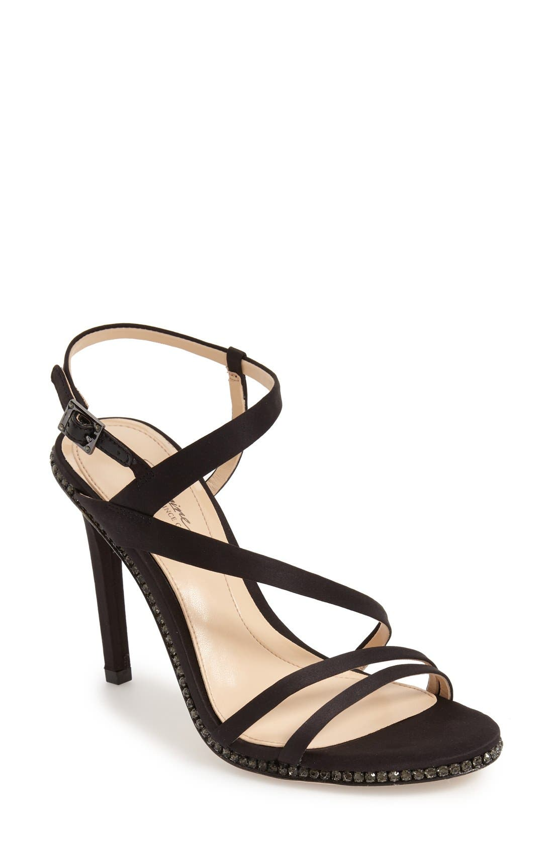 Imagine Vince Camuto 'Gian' Strappy Sandal,                             Main thumbnail 1, color,
